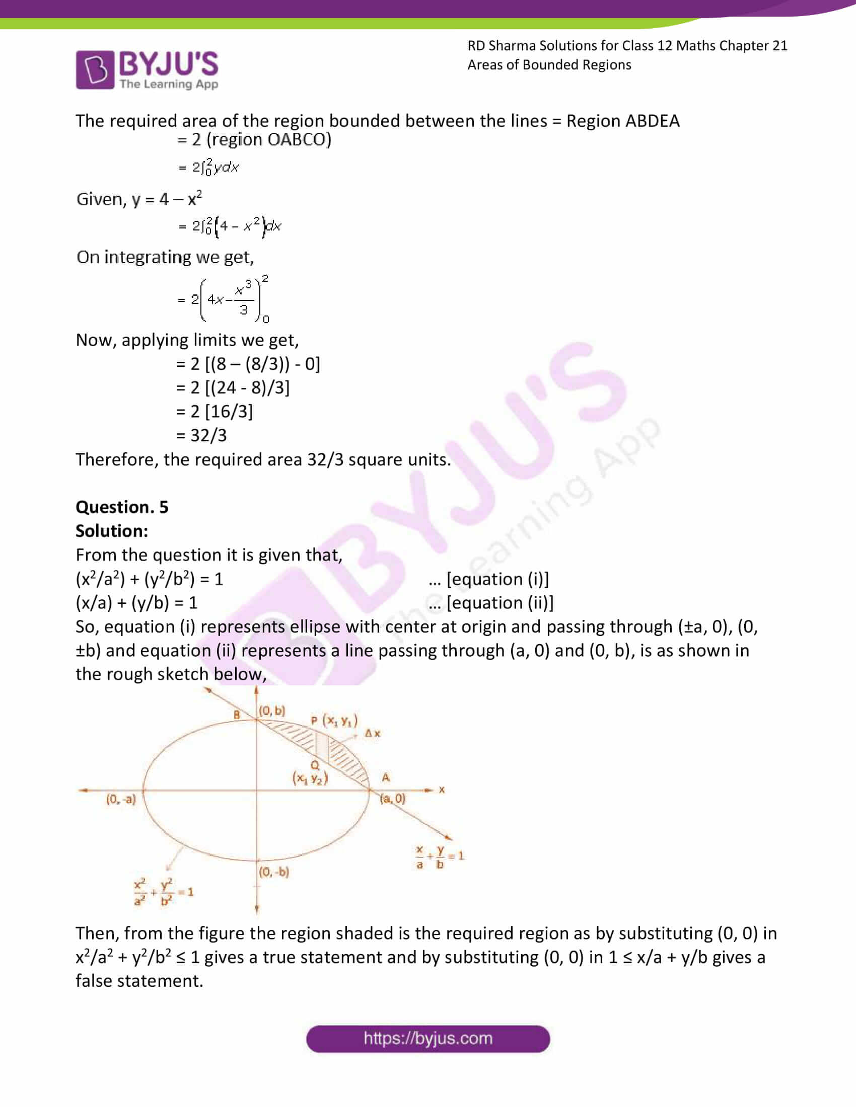 rd sharma solutions for class 12 maths chapter 21 ex 3 5