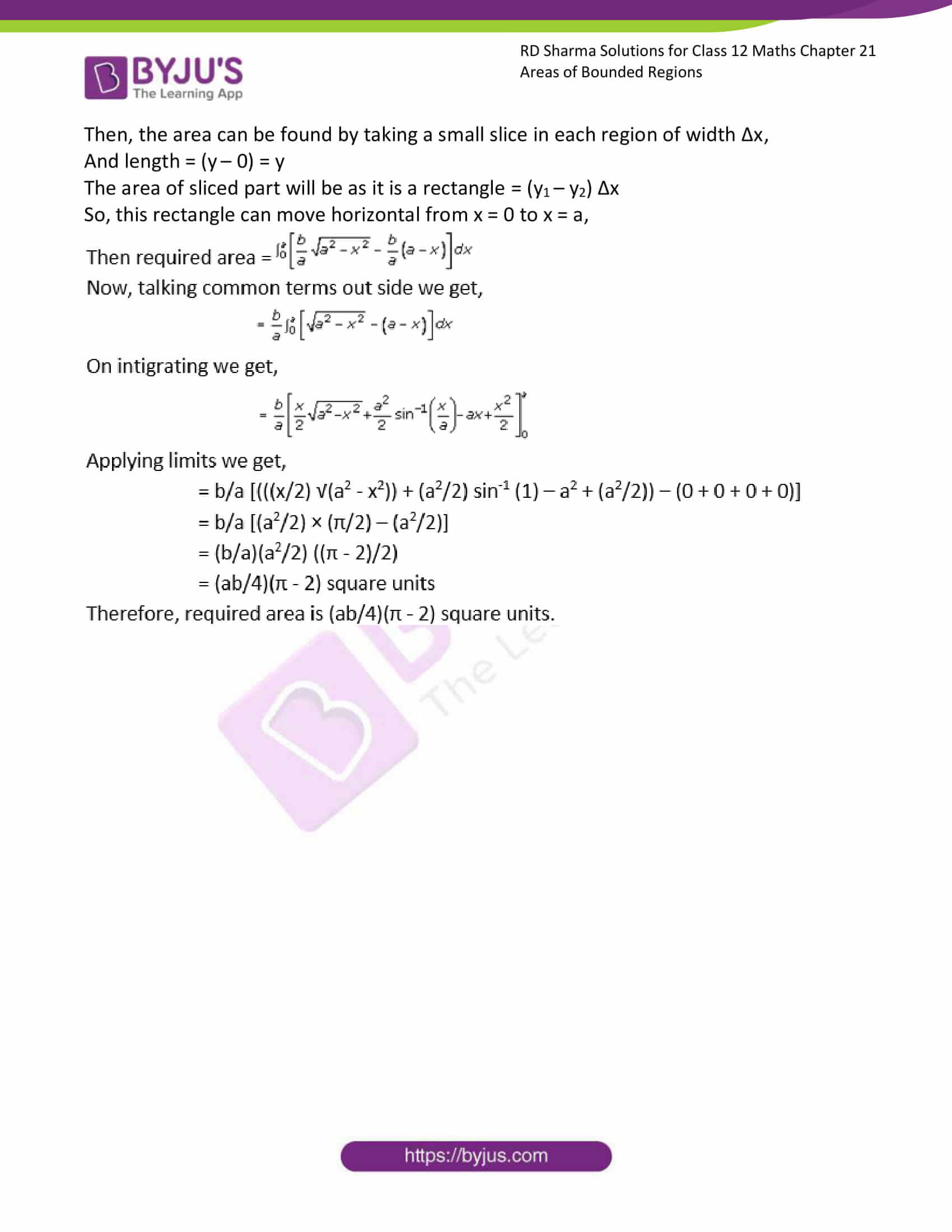 rd sharma solutions for class 12 maths chapter 21 ex 3 6