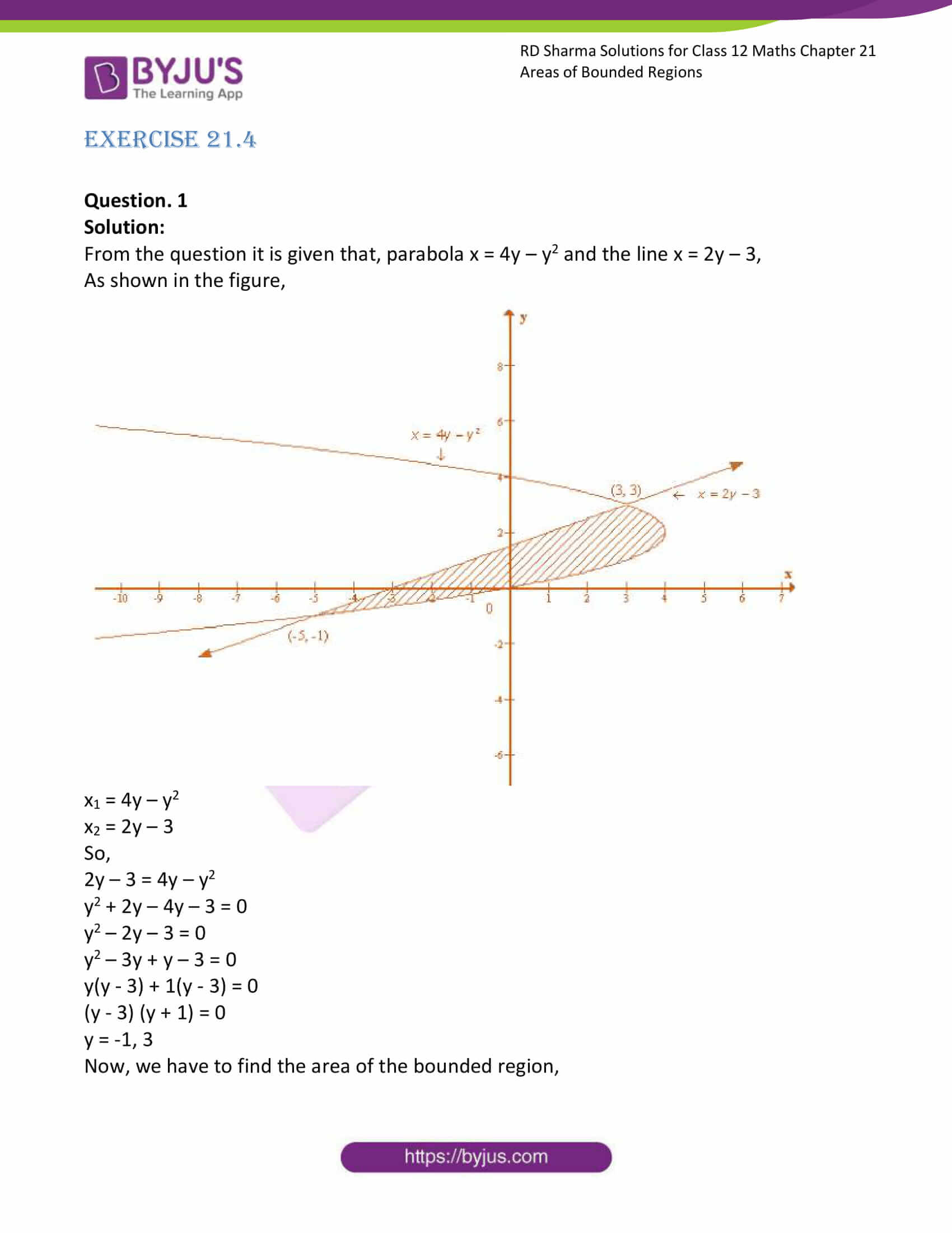rd sharma solutions for class 12 maths chapter 21 ex 4 1