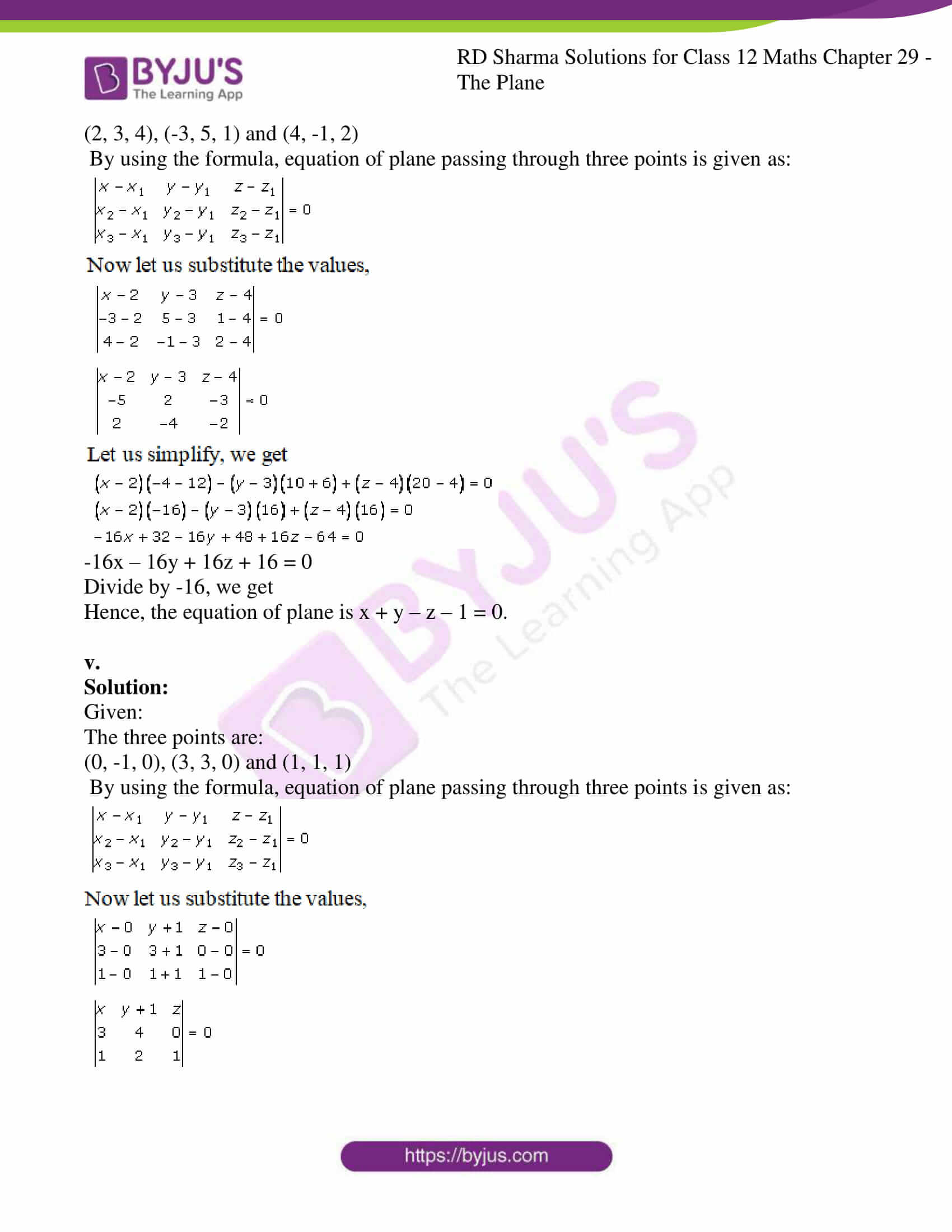 rd sharma solutions for class 12 maths chapter 29 ex 1 3