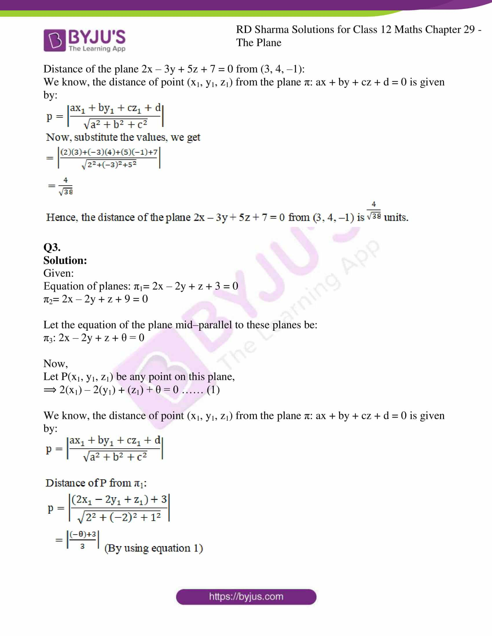 rd sharma solutions for class 12 maths chapter 29 ex 10 2