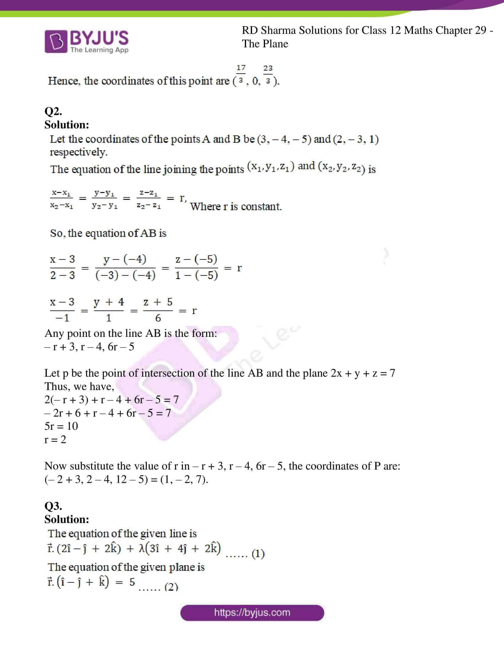 rd sharma solutions for class 12 maths chapter 29 ex 12 2