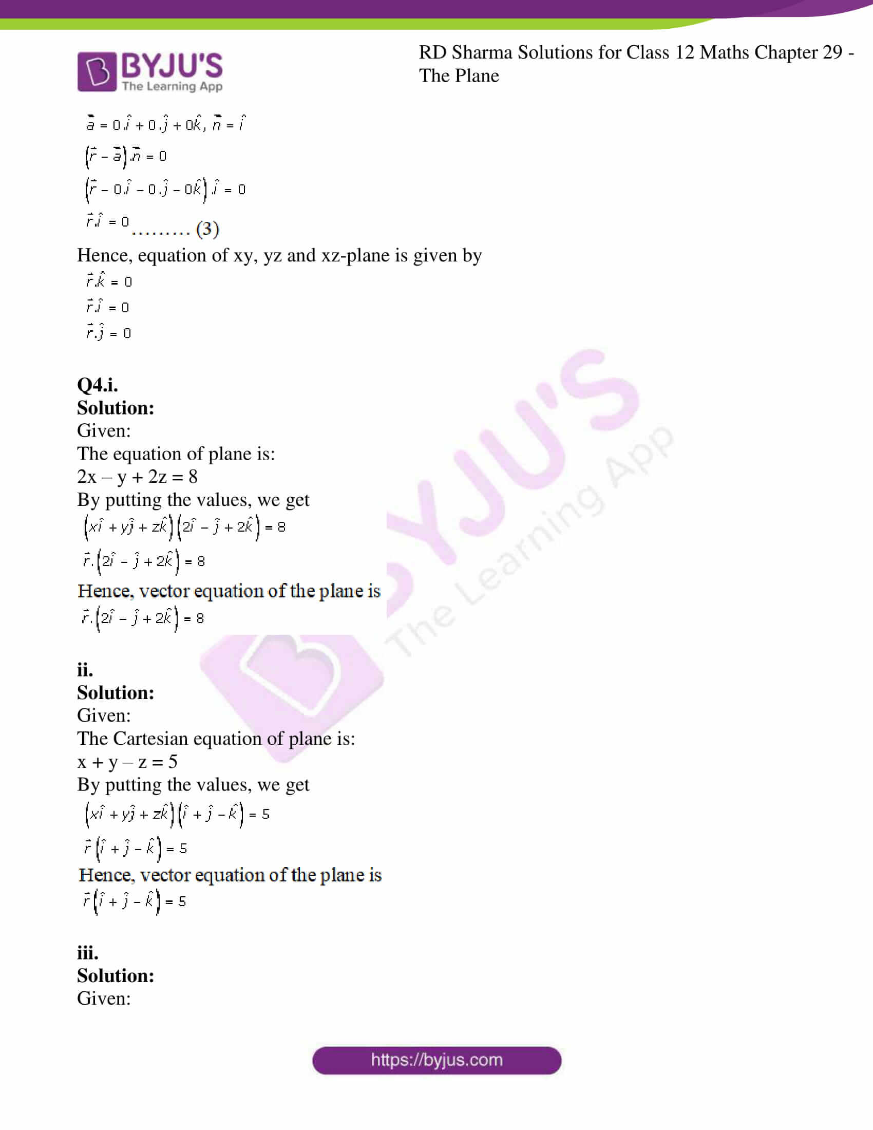 rd sharma solutions for class 12 maths chapter 29 ex 3 3