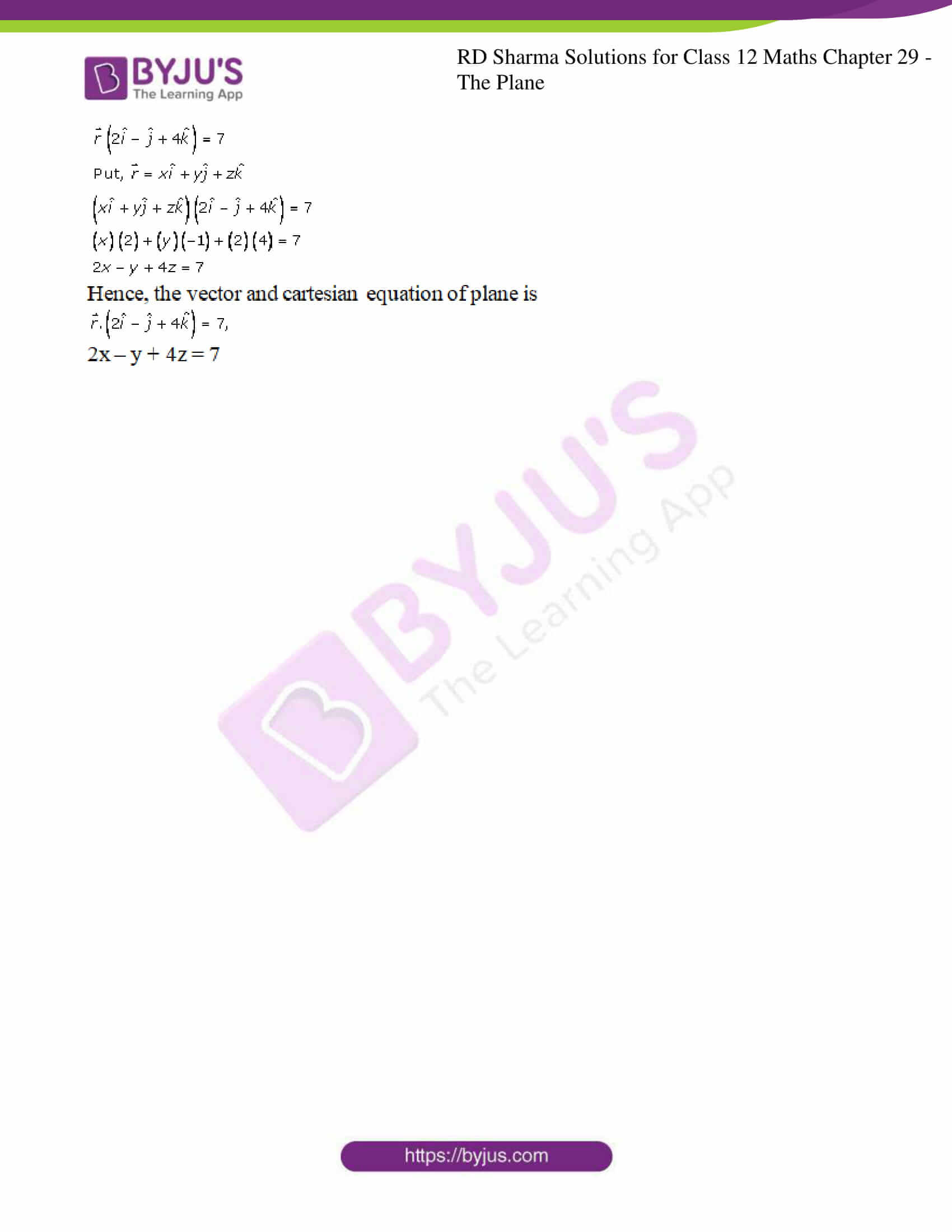 rd sharma solutions for class 12 maths chapter 29 ex 3 5