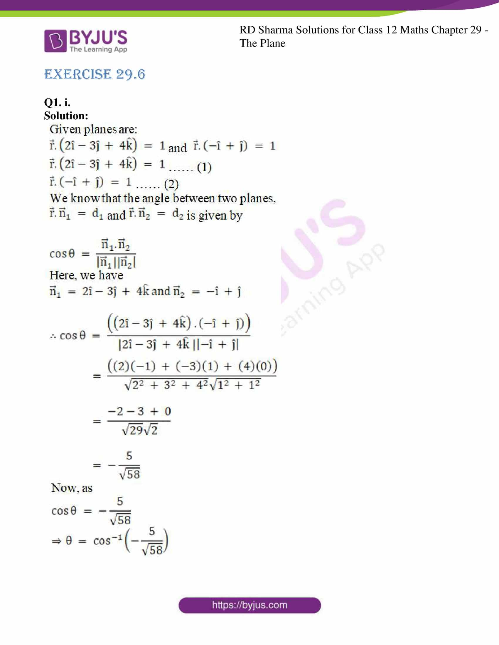 rd sharma solutions for class 12 maths chapter 29 ex 6 01