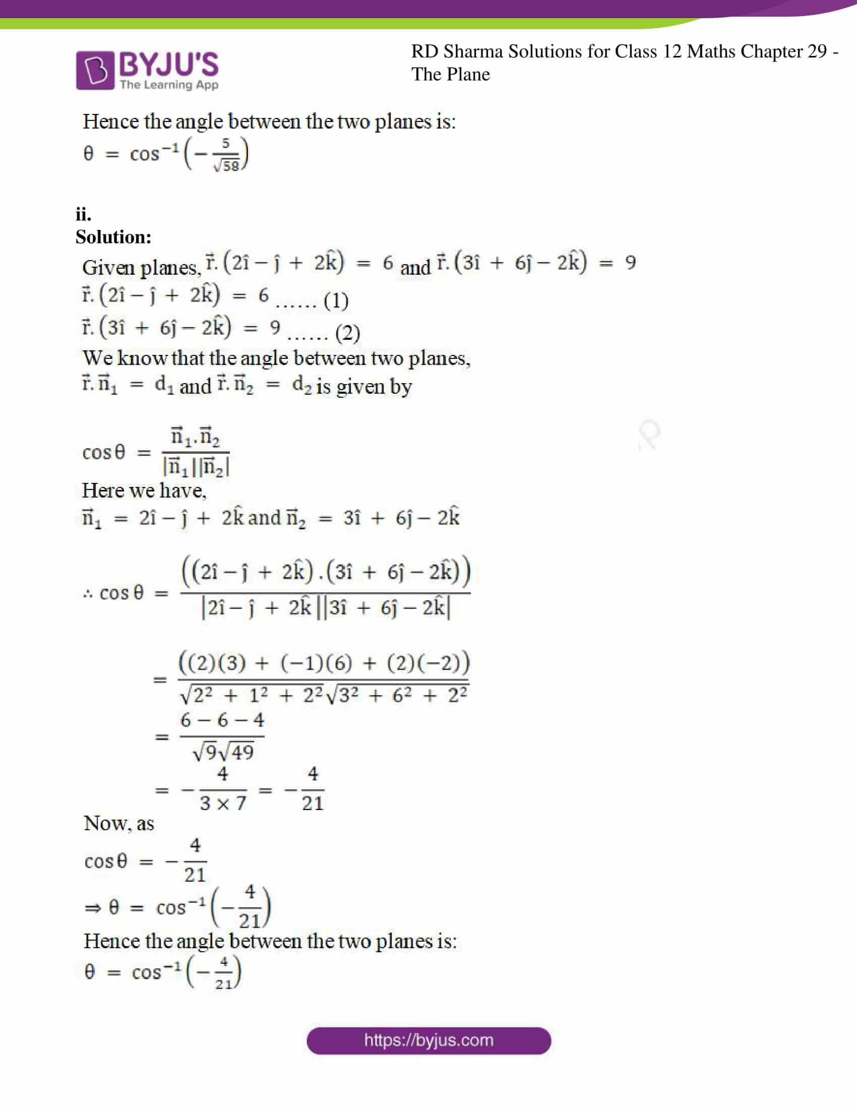 rd sharma solutions for class 12 maths chapter 29 ex 6 02