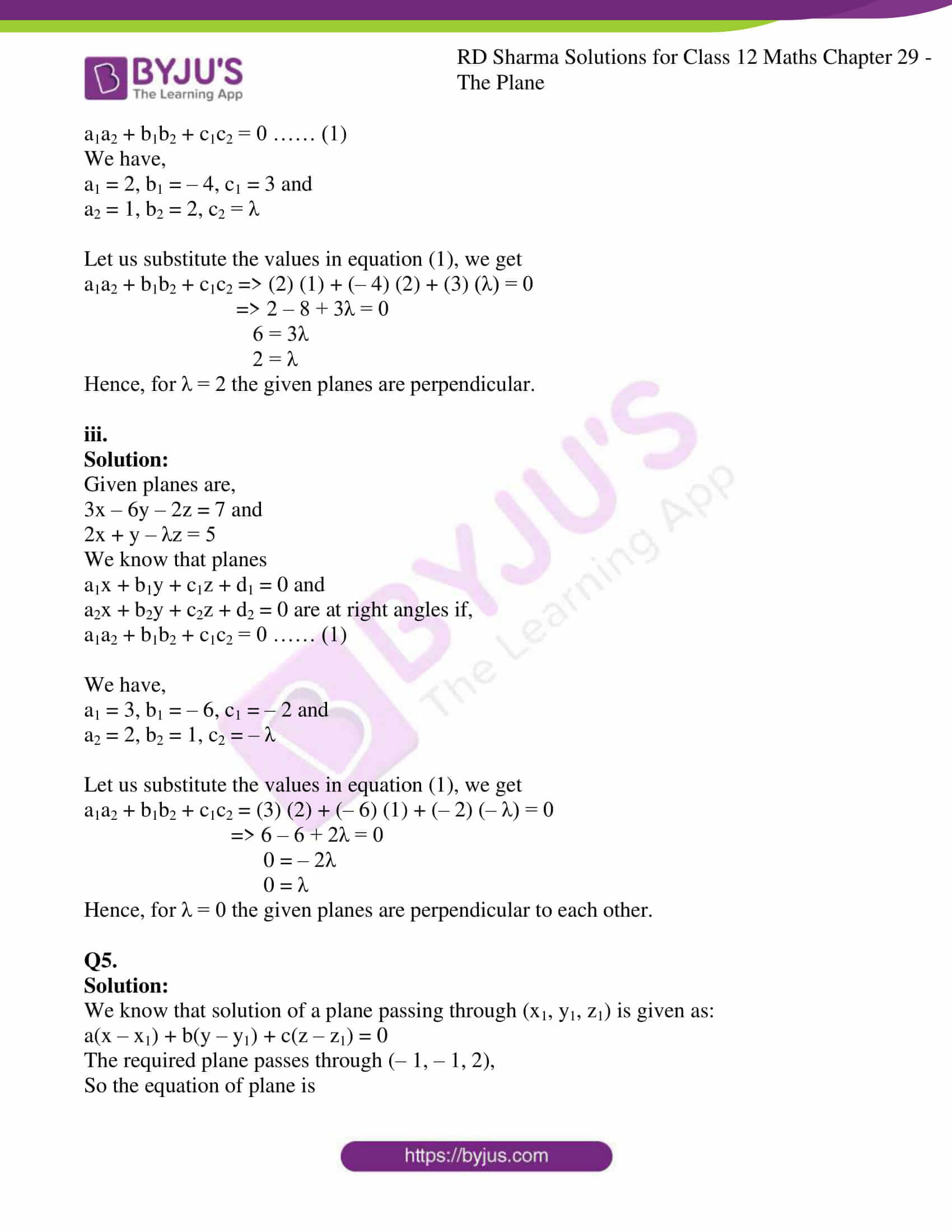 rd sharma solutions for class 12 maths chapter 29 ex 6 10