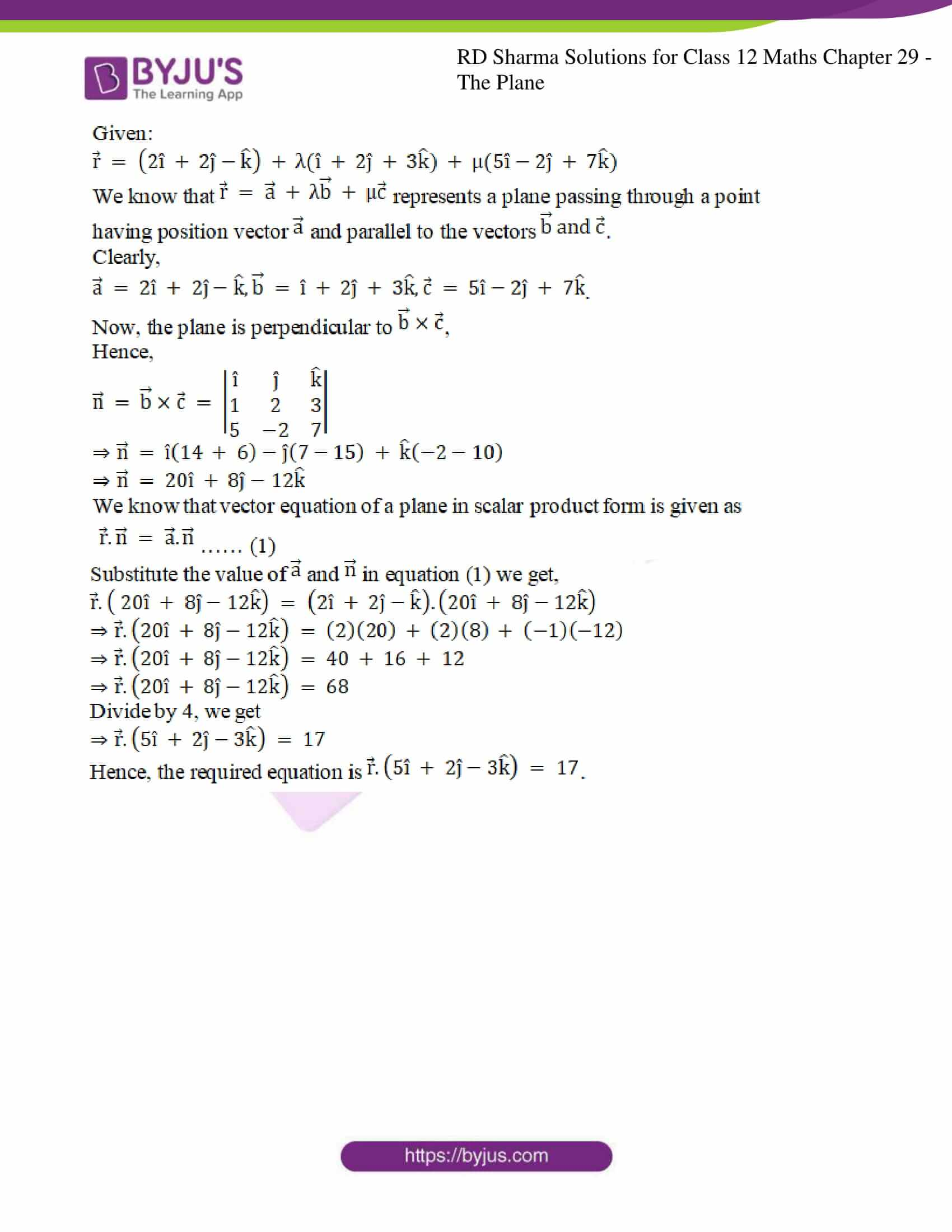 rd sharma solutions for class 12 maths chapter 29 ex 7 7