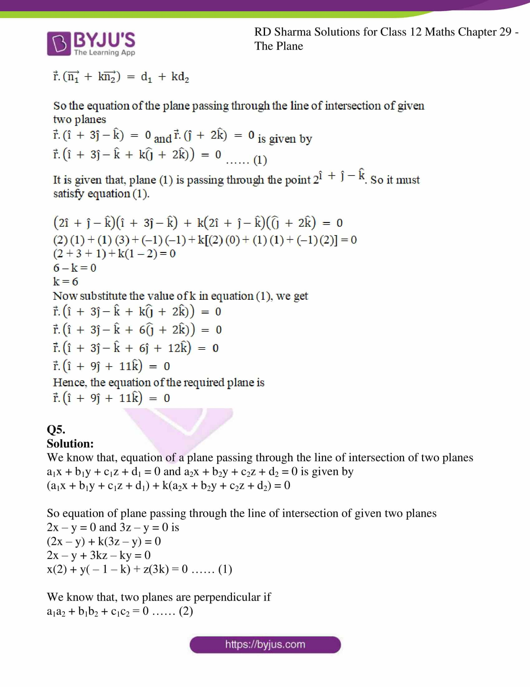 rd sharma solutions for class 12 maths chapter 29 ex 8 3
