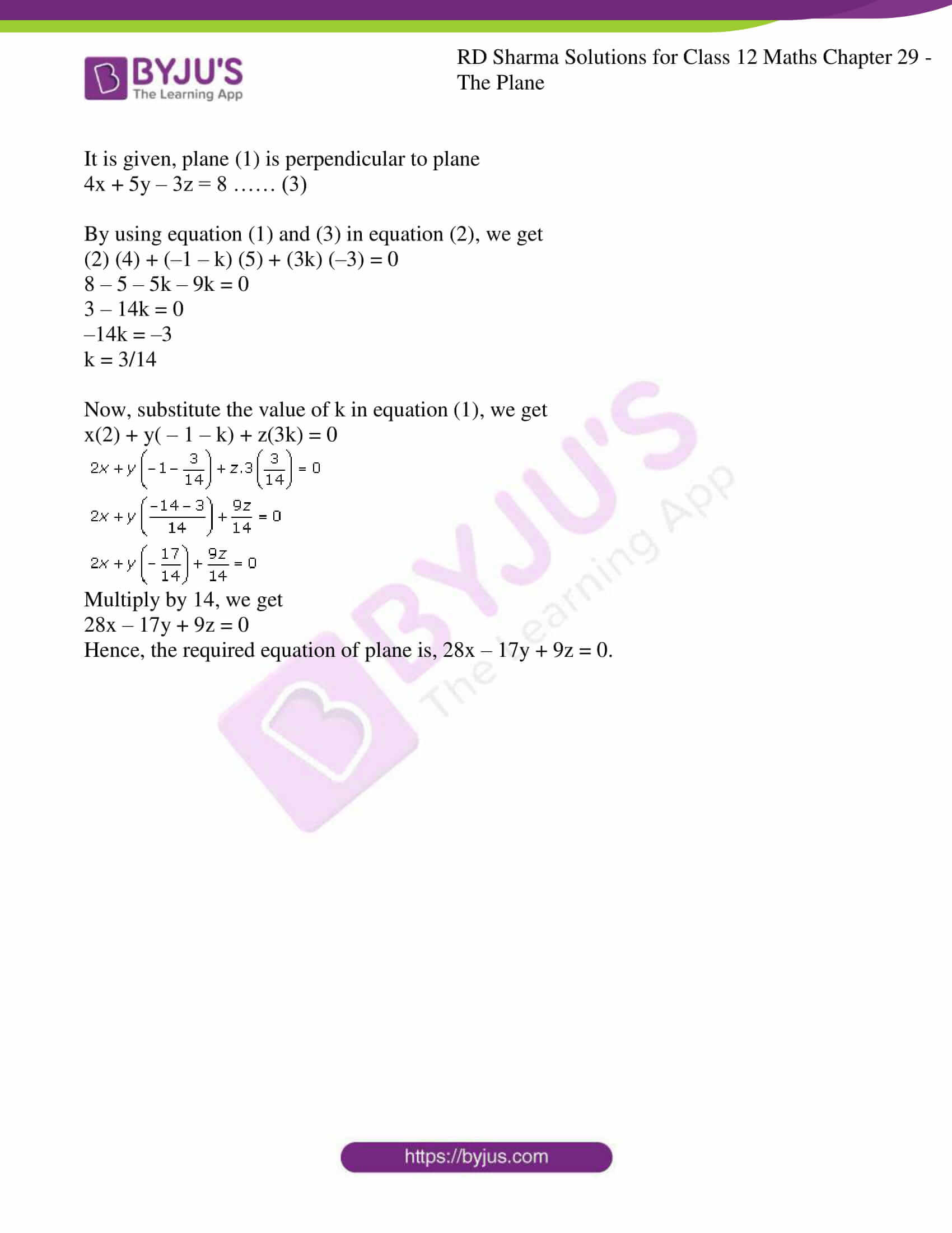 rd sharma solutions for class 12 maths chapter 29 ex 8 4