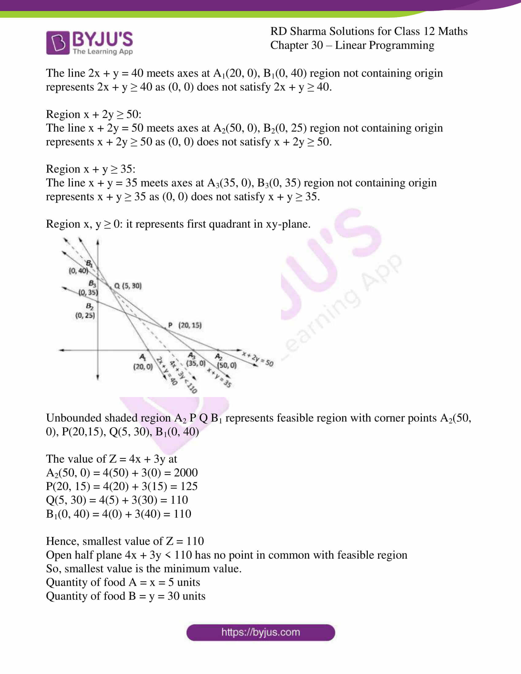 rd sharma solutions for class 12 maths chapter 30 ex 3 3