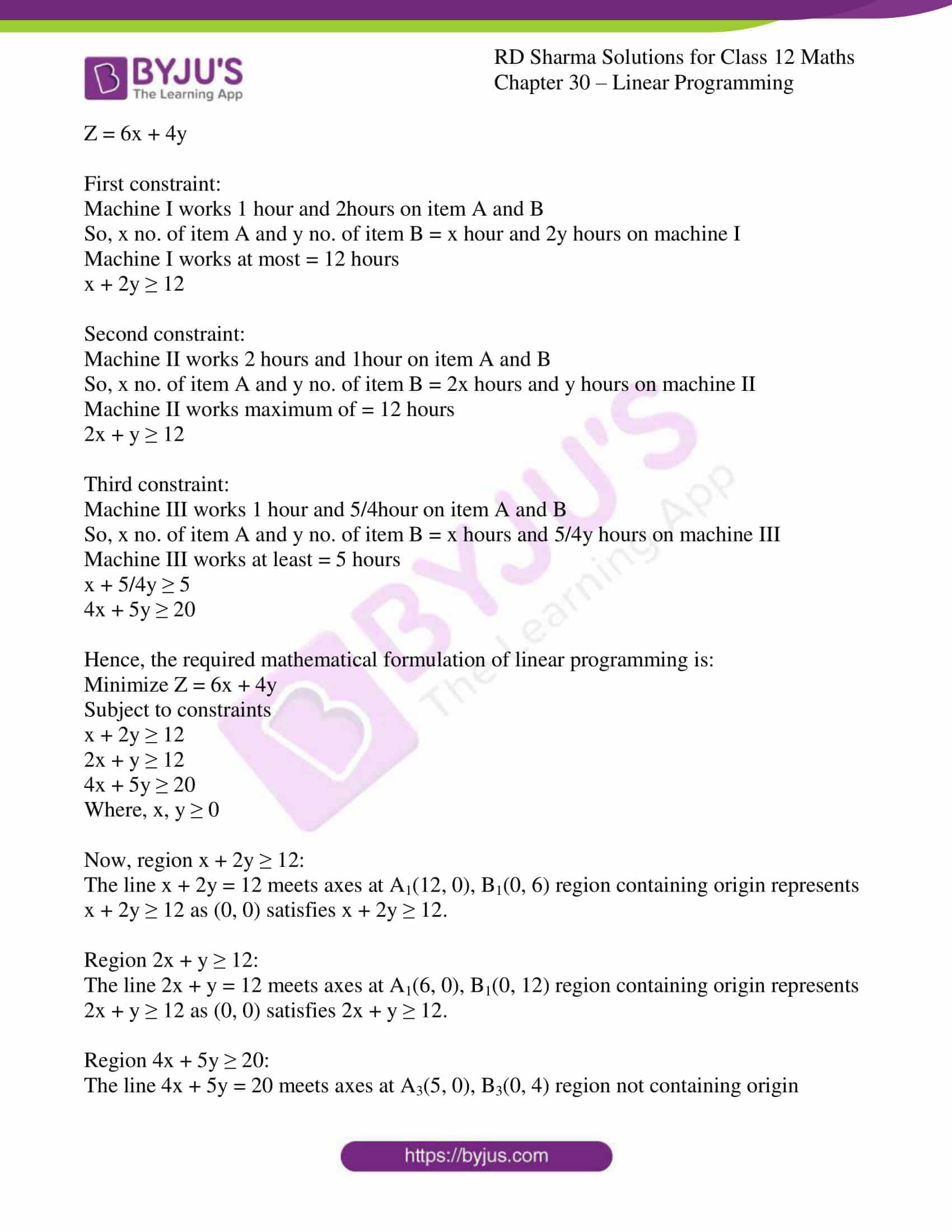 rd sharma solutions for class 12 maths chapter 30 ex 4 03