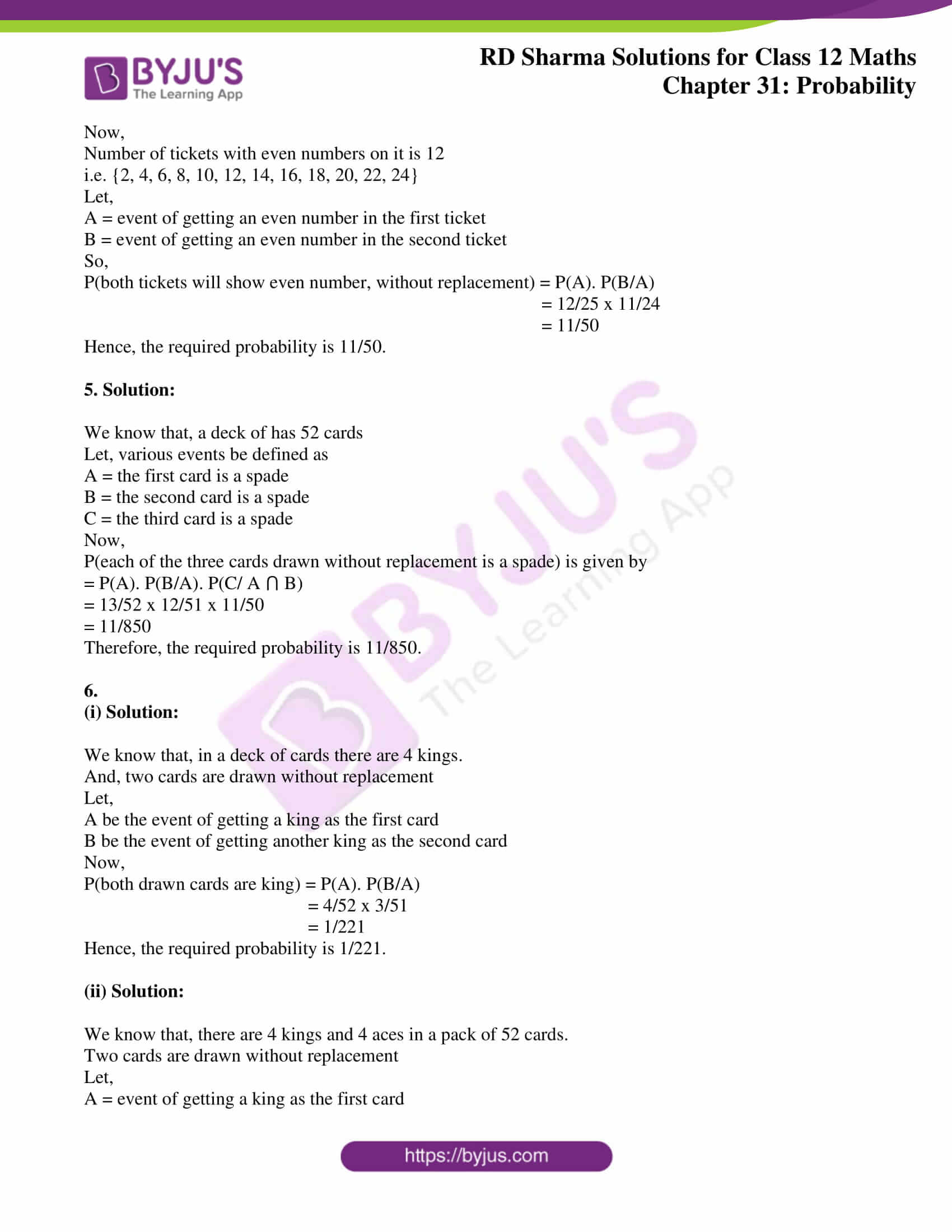rd sharma solutions for class 12 maths chapter 31 ex 2 2
