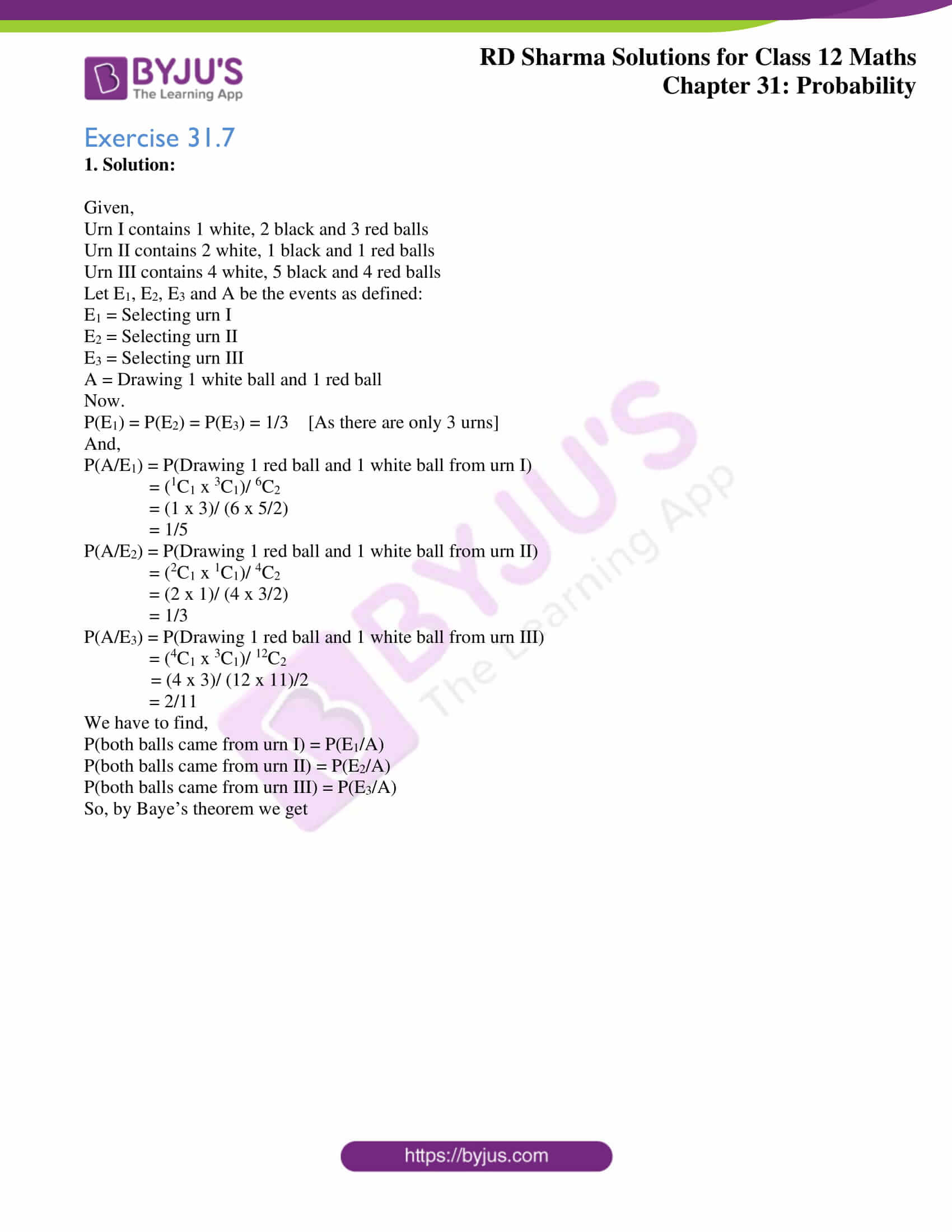 rd sharma solutions for class 12 maths chapter 31 ex 7 1