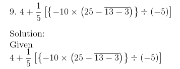 RD Sharma Solutions for class 7 Chapter 1 Integers Exercise 1.4 image 12