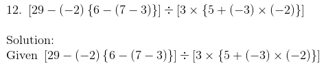 RD Sharma Solutions for class 7 Chapter 1 Integers Exercise 1.4 image 18