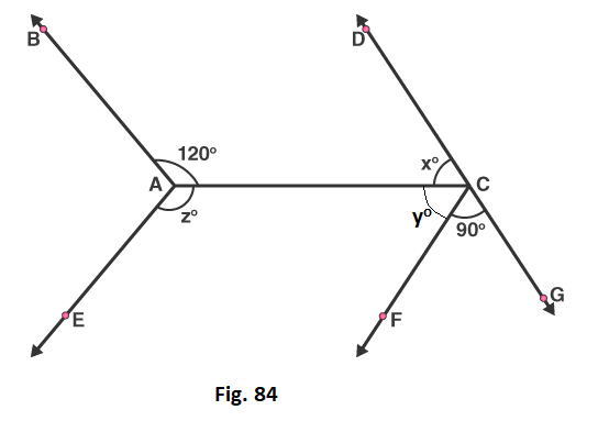 RD Sharma Solutions for class 7 Maths Chapter 14 Lines and Angles Image 47