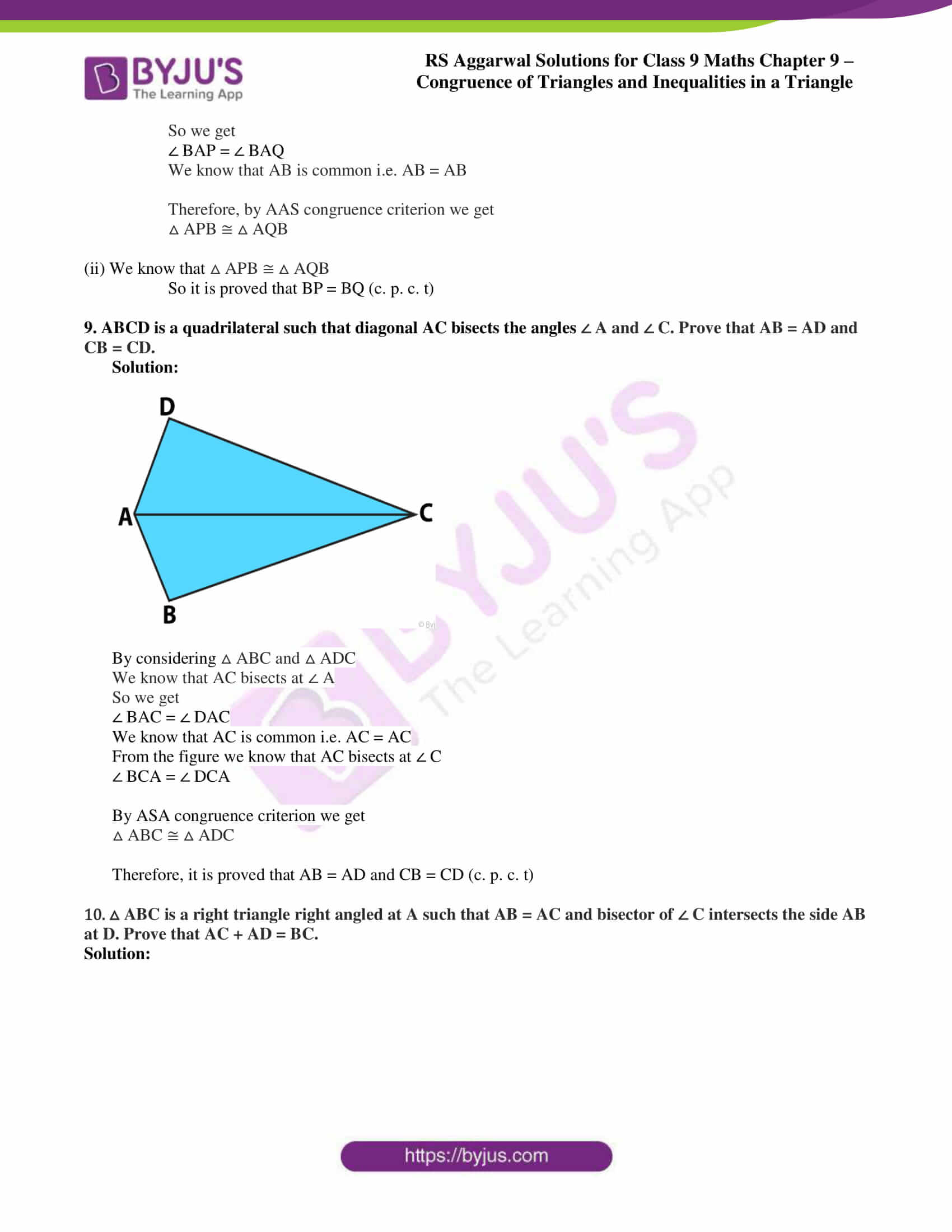 rs aggarwal class 9 solutions maths chapter 9 ex a 07