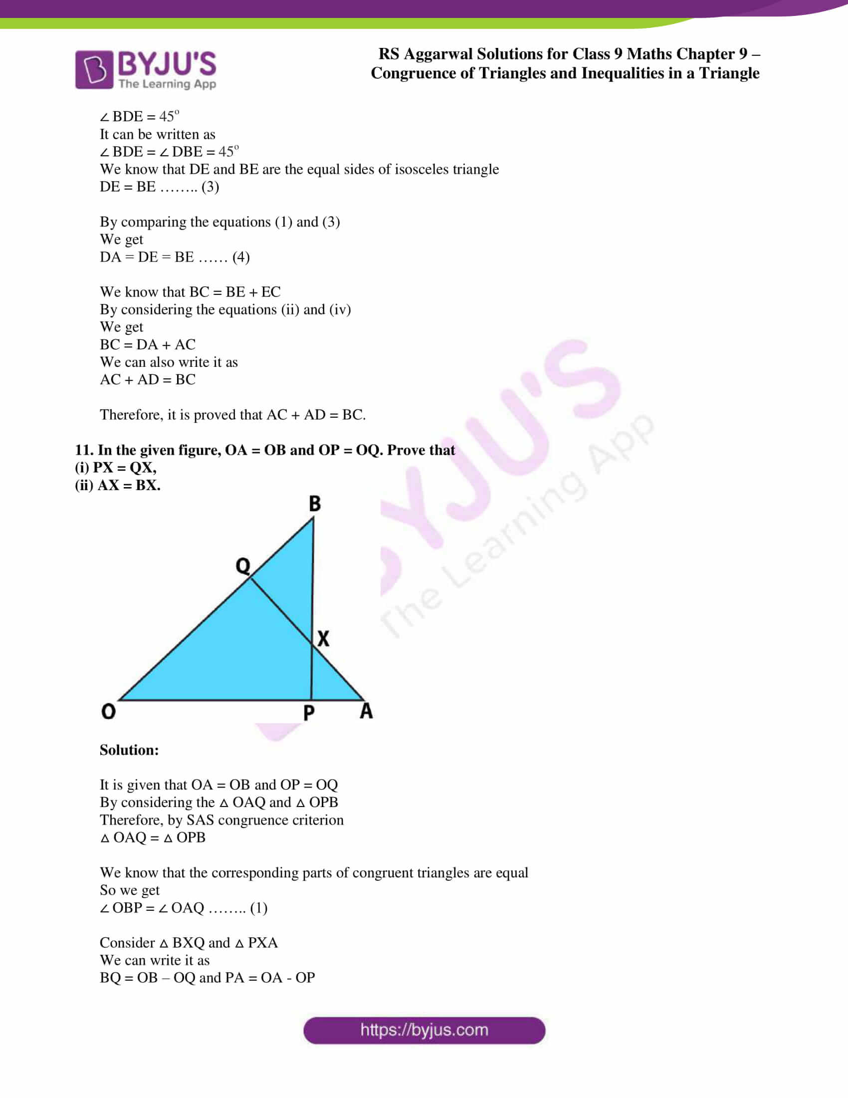rs aggarwal class 9 solutions maths chapter 9 ex a 09