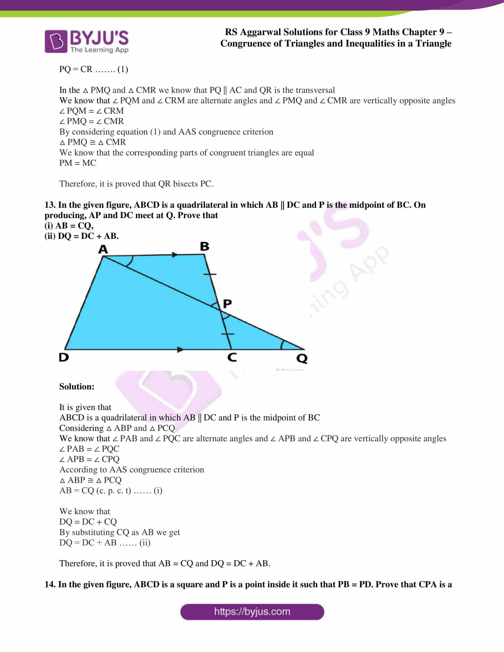 rs aggarwal class 9 solutions maths chapter 9 ex a 11