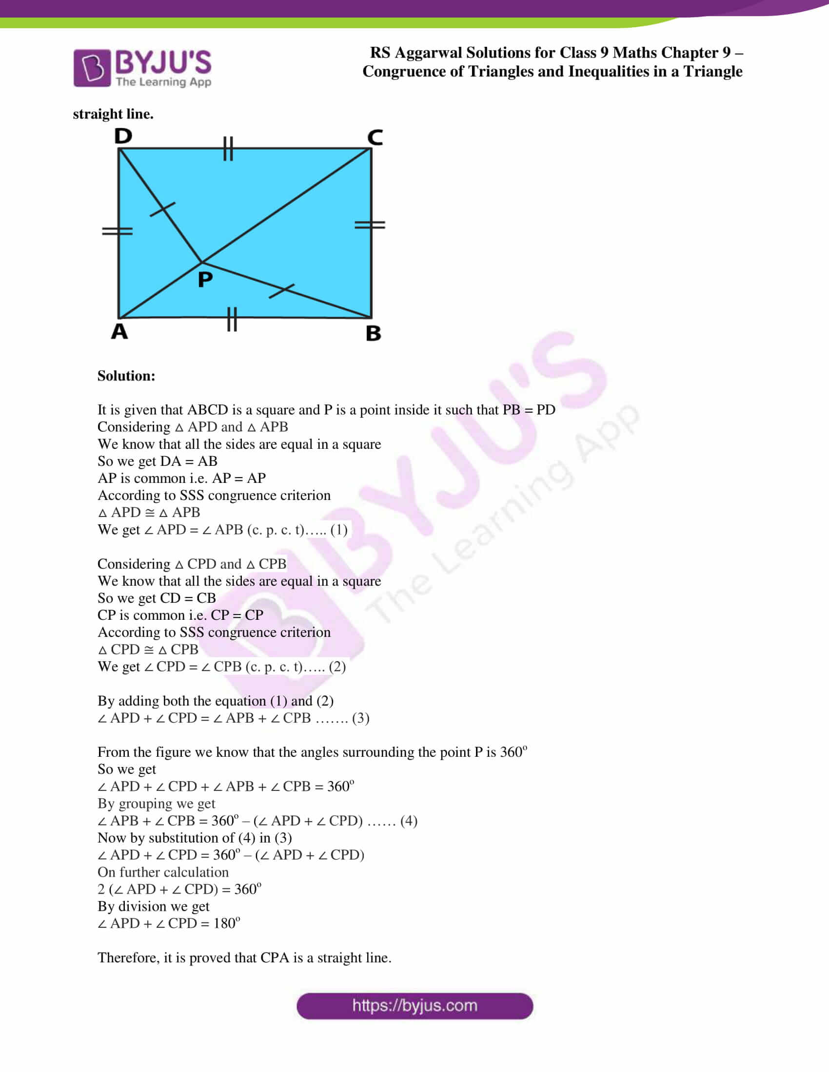rs aggarwal class 9 solutions maths chapter 9 ex a 12