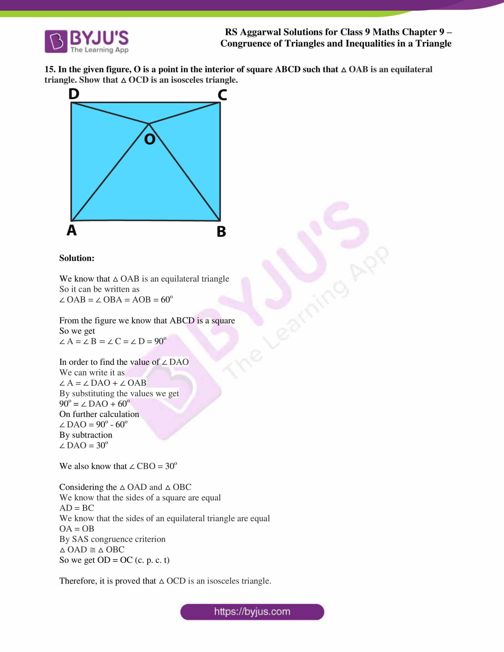 rs aggarwal class 9 solutions maths chapter 9 ex a 13