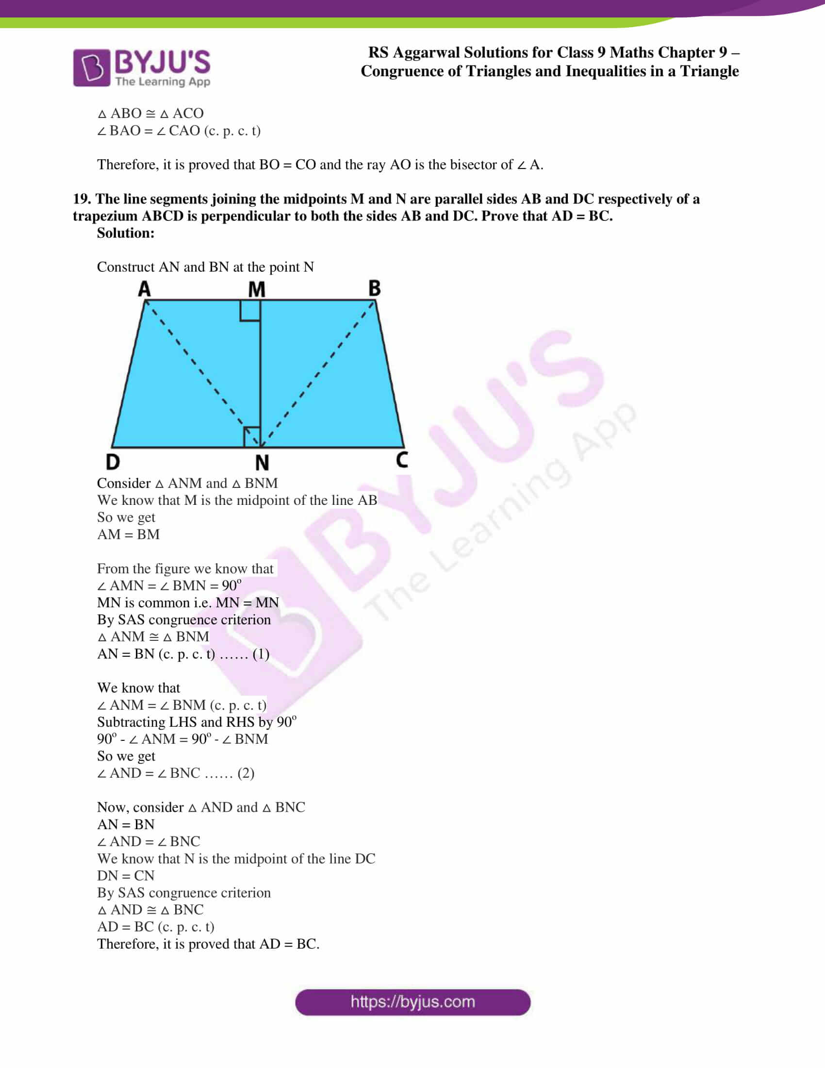 rs aggarwal class 9 solutions maths chapter 9 ex a 16