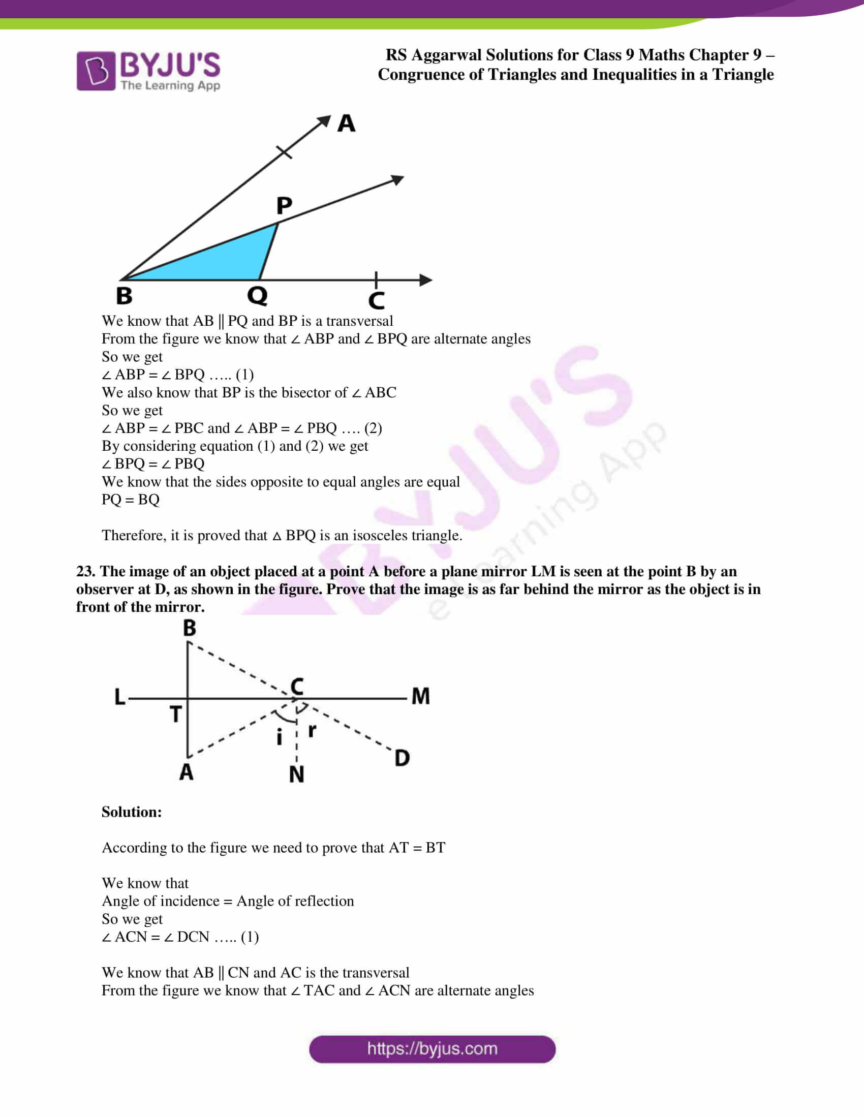 rs aggarwal class 9 solutions maths chapter 9 ex a 19