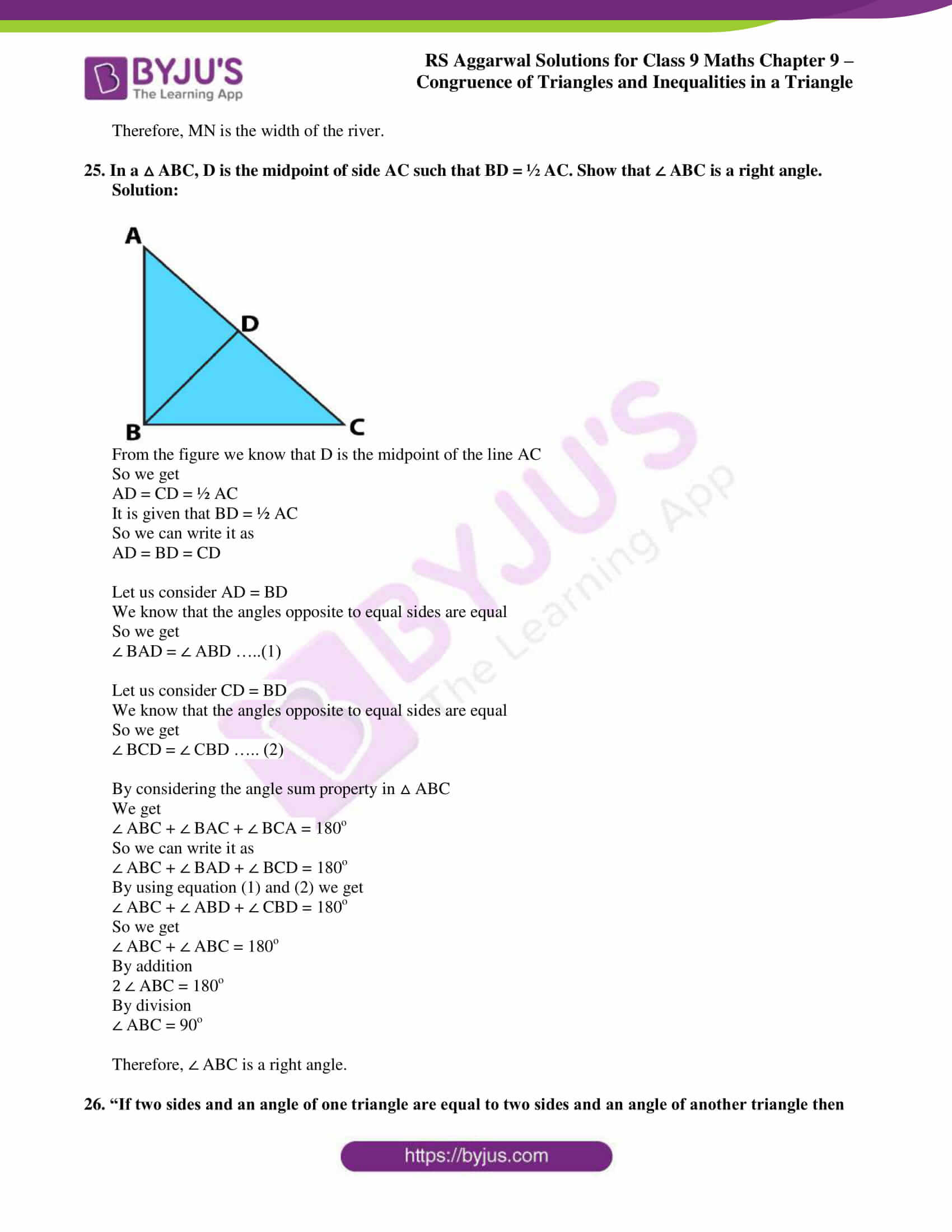 rs aggarwal class 9 solutions maths chapter 9 ex a 21