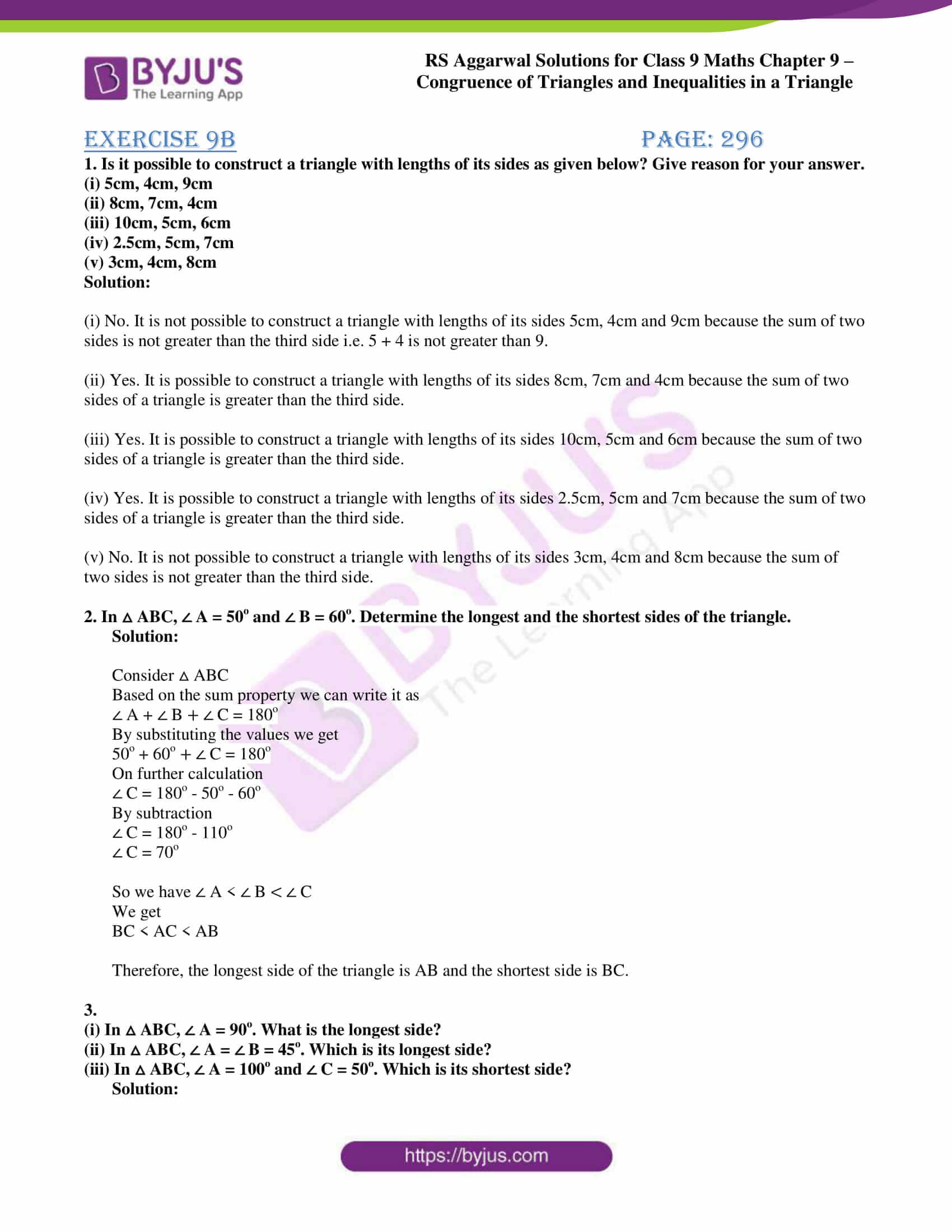 rs aggarwal class 9 solutions maths chapter 9 ex b 01