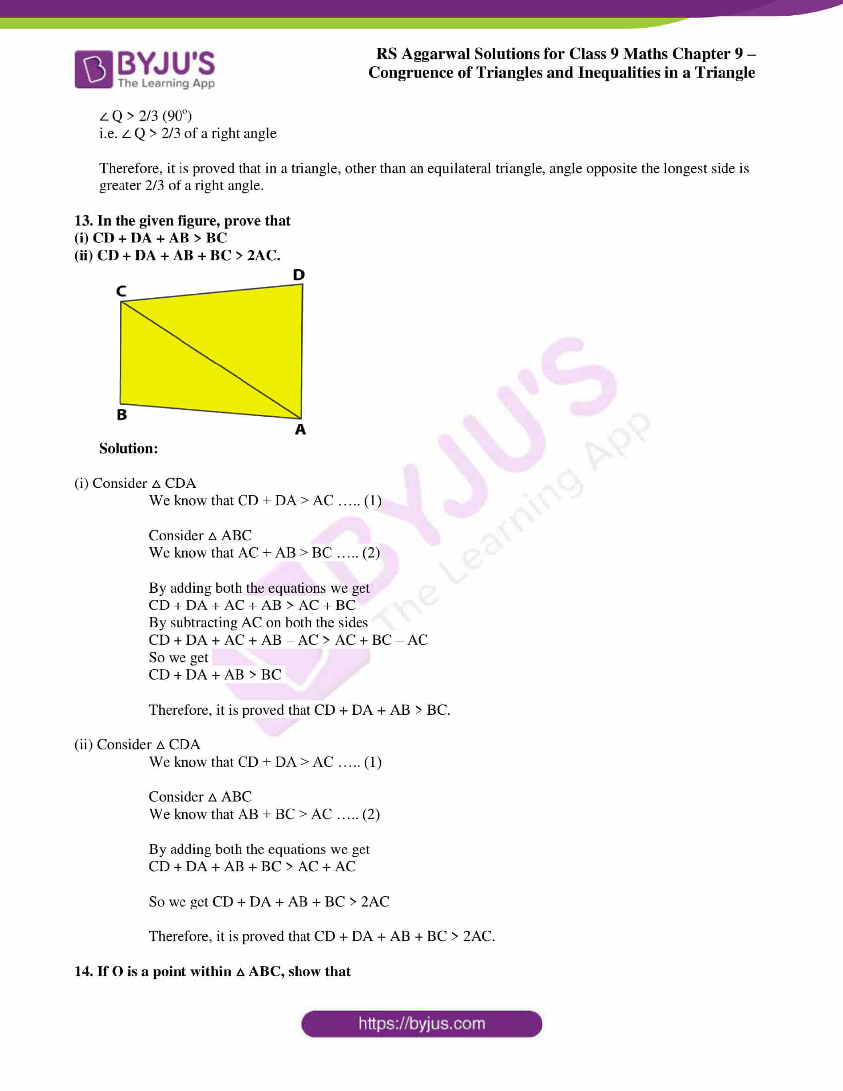 rs aggarwal class 9 solutions maths chapter 9 ex b 11