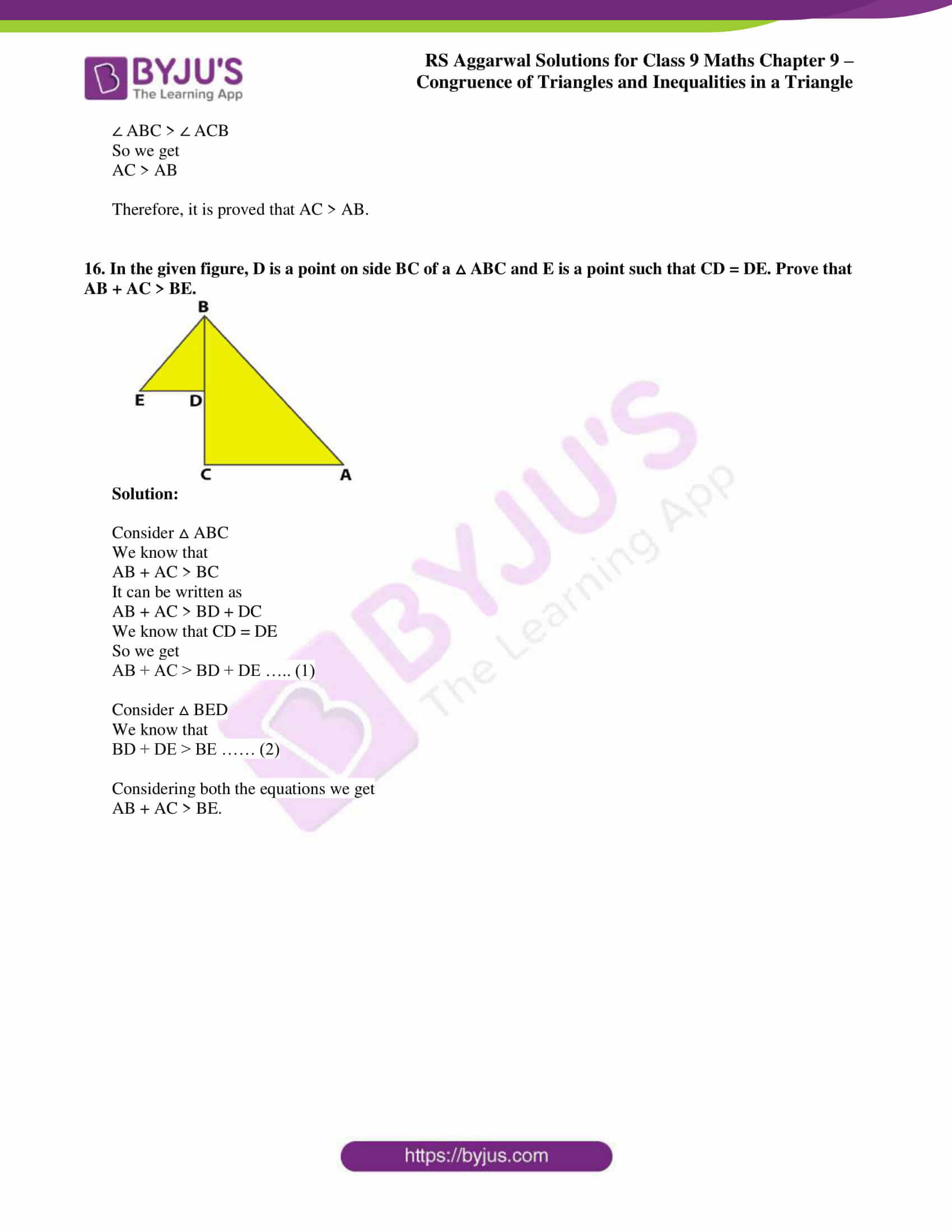 rs aggarwal class 9 solutions maths chapter 9 ex b 14