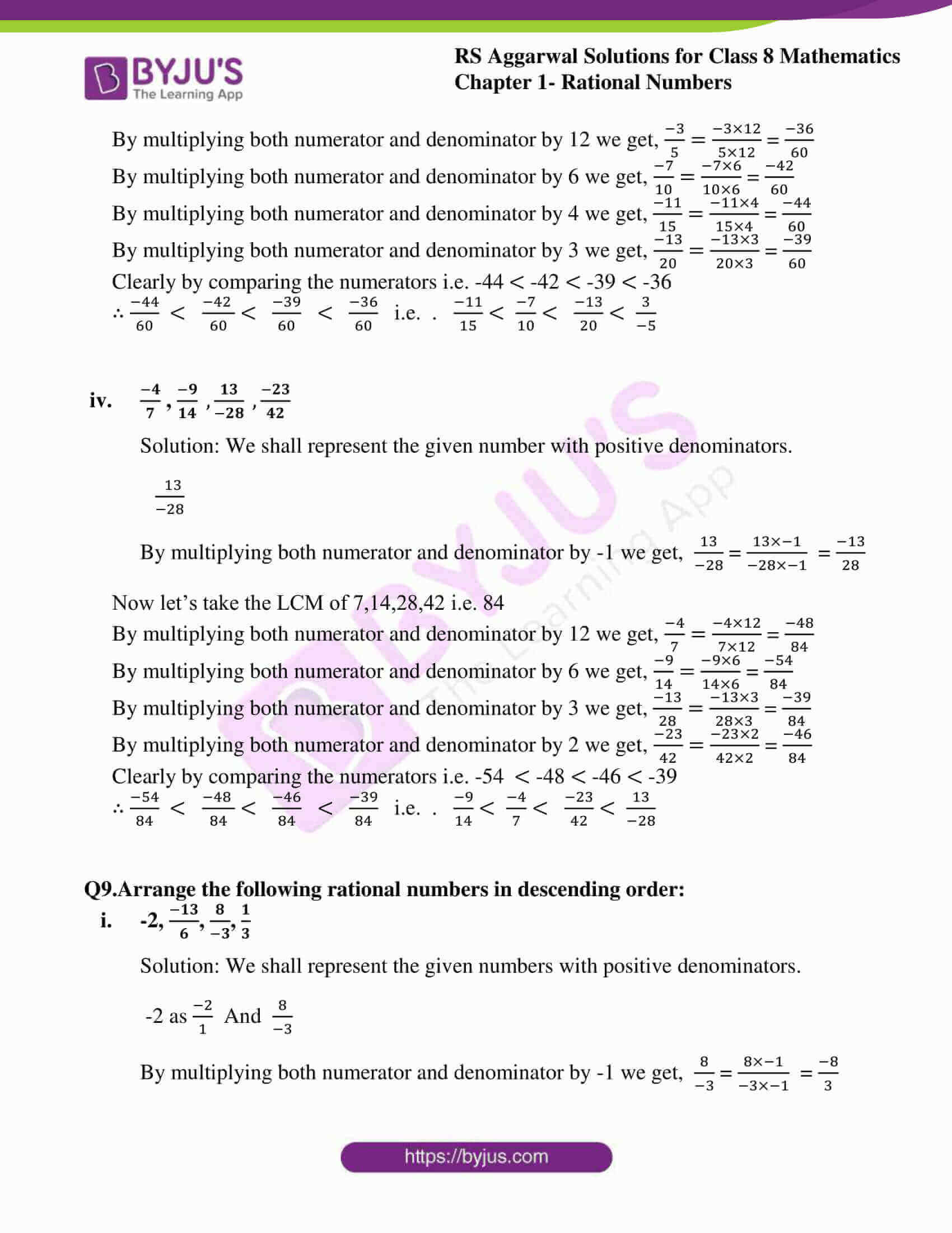 rs aggarwal solution for class 8 maths chapter 1 ex a 09
