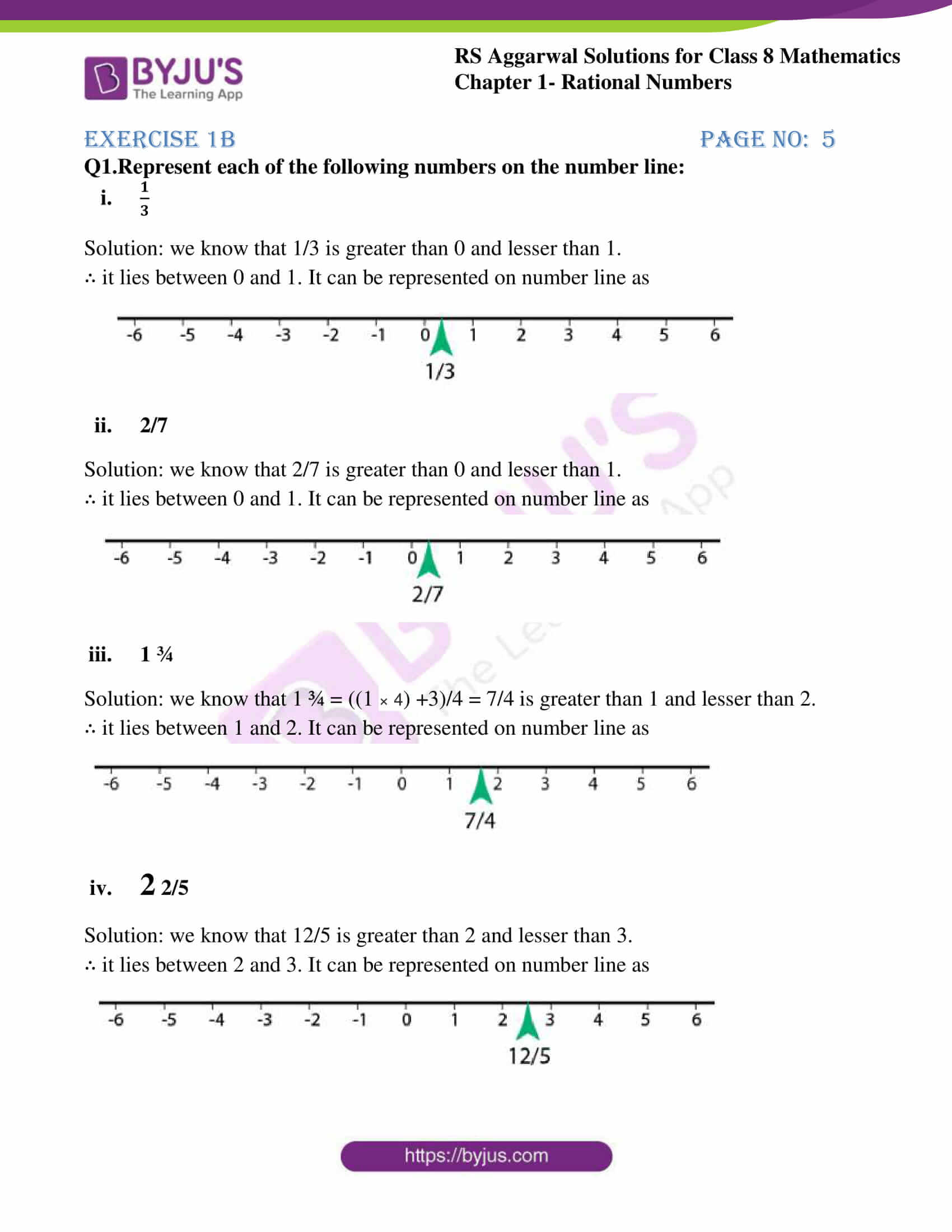 rs aggarwal solution for class 8 maths chapter 1 ex b 1