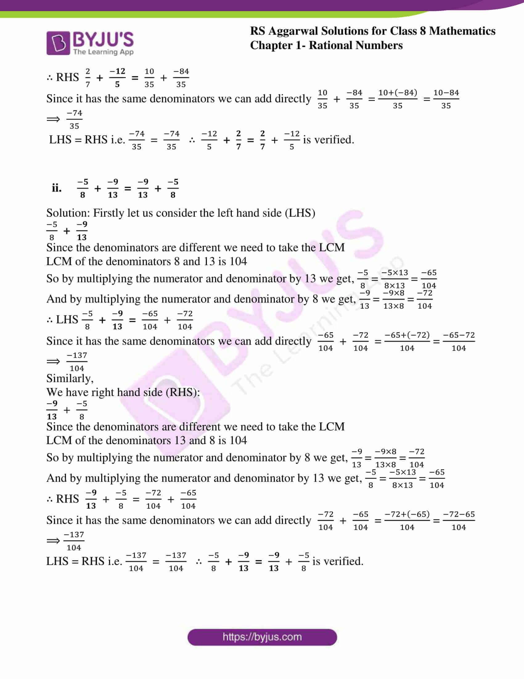 rs aggarwal solution for class 8 maths chapter 1 ex c 06