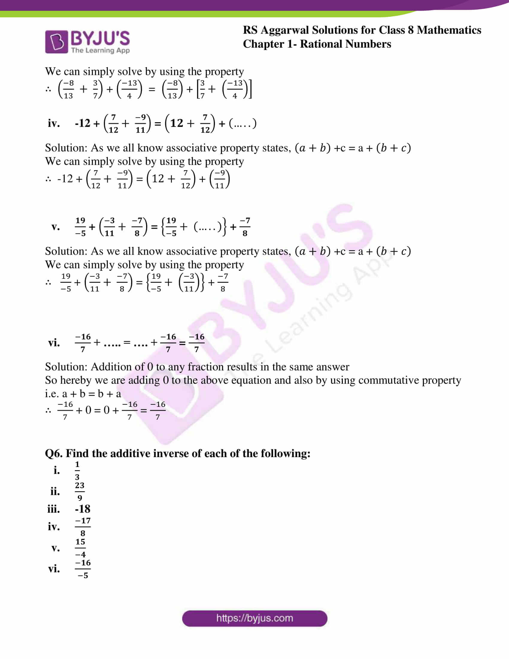 rs aggarwal solution for class 8 maths chapter 1 ex c 11