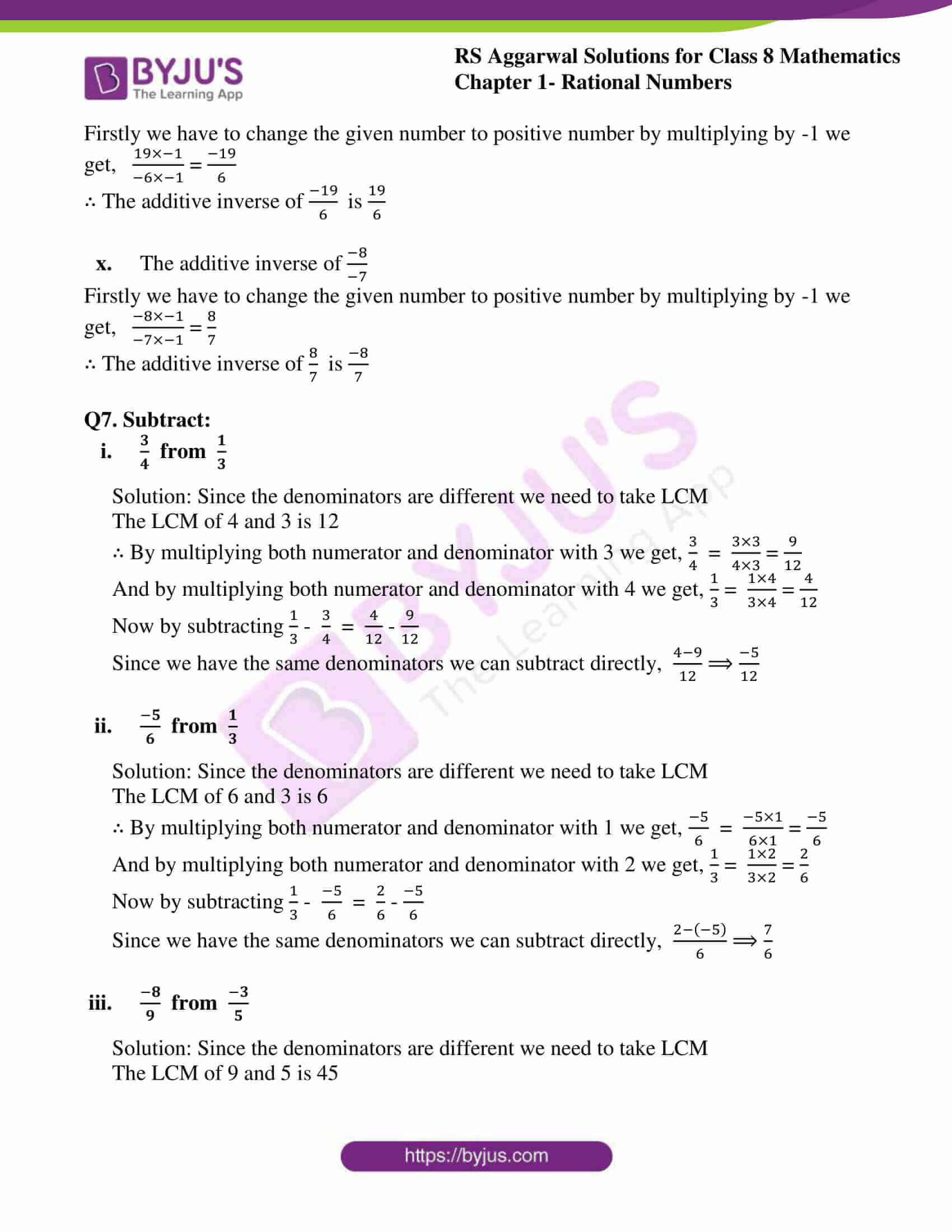 rs aggarwal solution for class 8 maths chapter 1 ex c 13