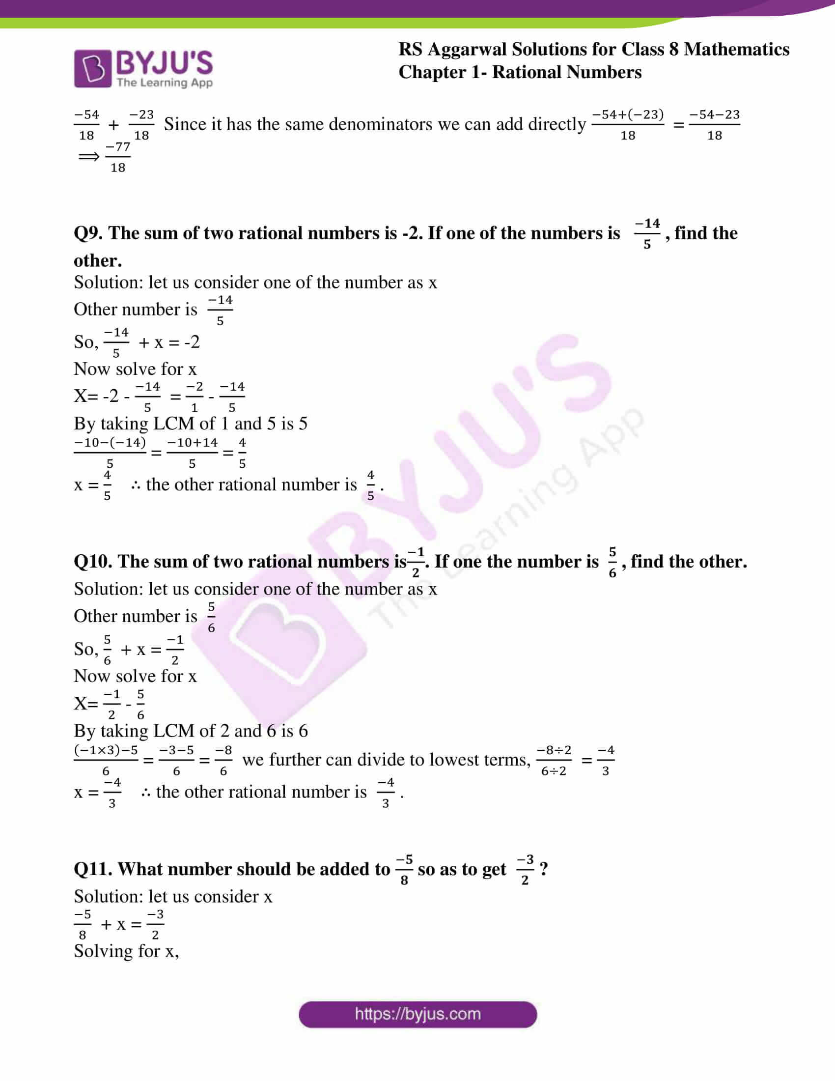 rs aggarwal solution for class 8 maths chapter 1 ex c 18