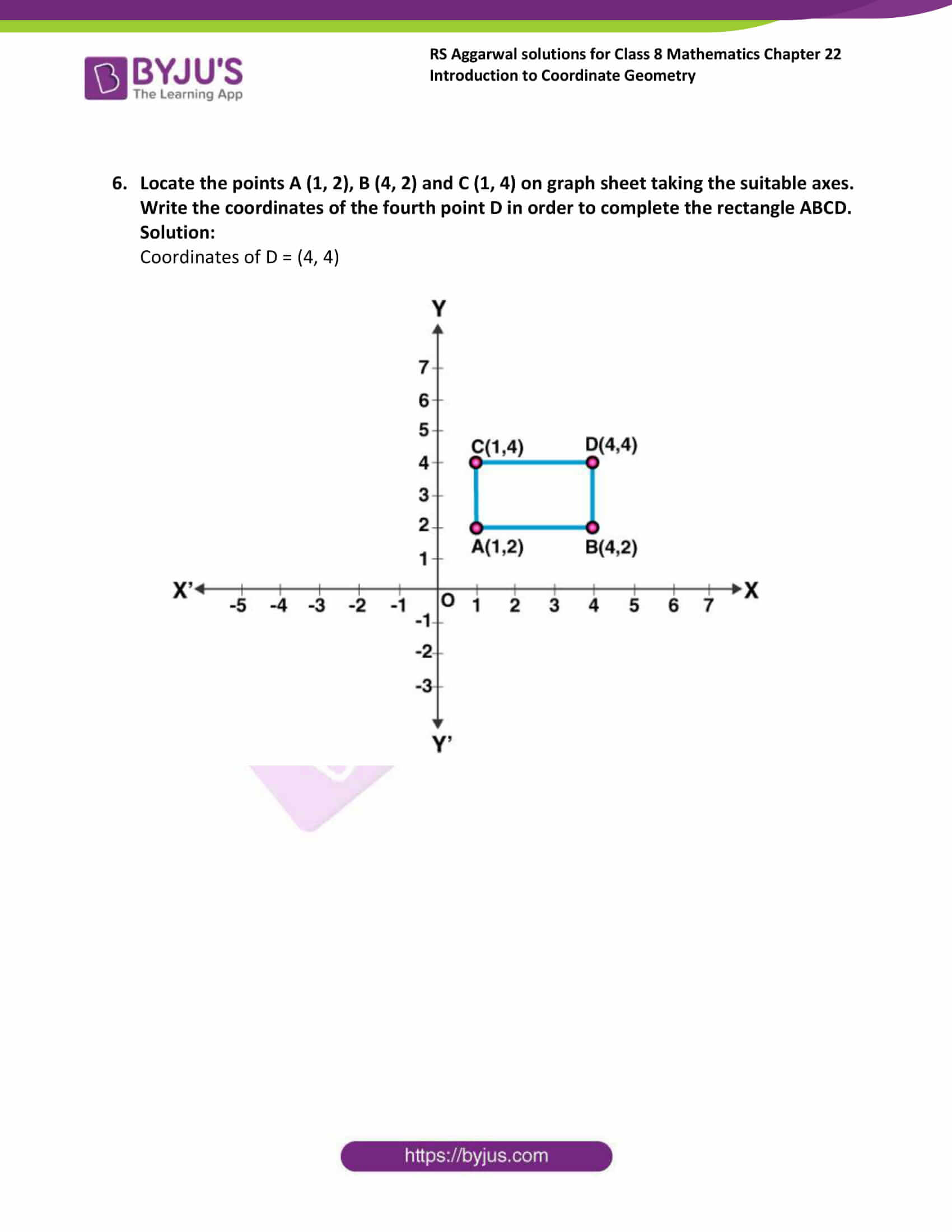 rs aggarwal solution for class 8 maths chapter 22 ex a 9