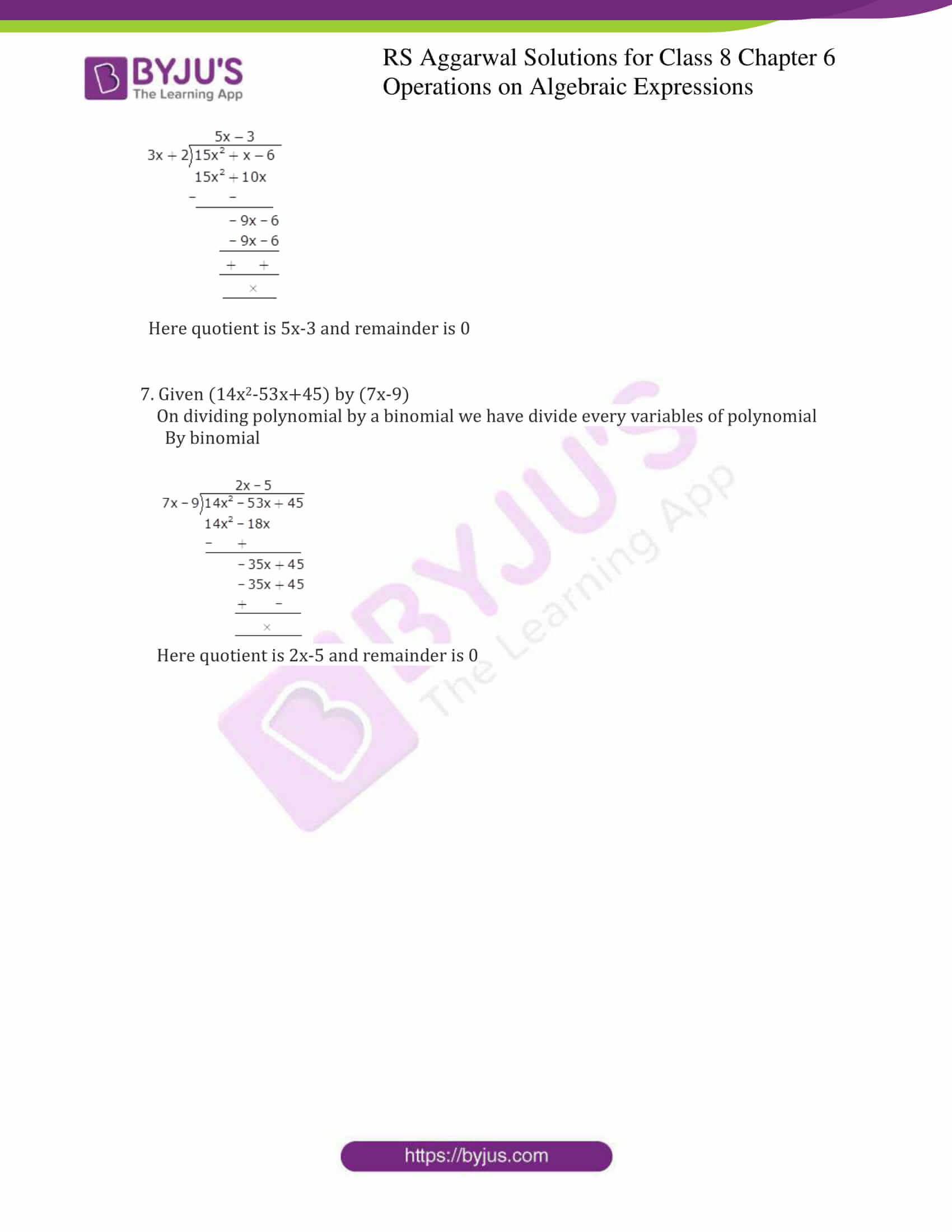 rs aggarwal solution for class 8 maths chapter 6 ex c 4