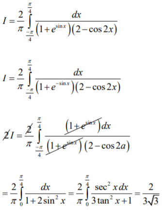 Solved JEE Advanced Maths 2019 Question Paper 1