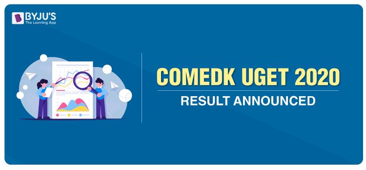 COMEDK 2020 Result