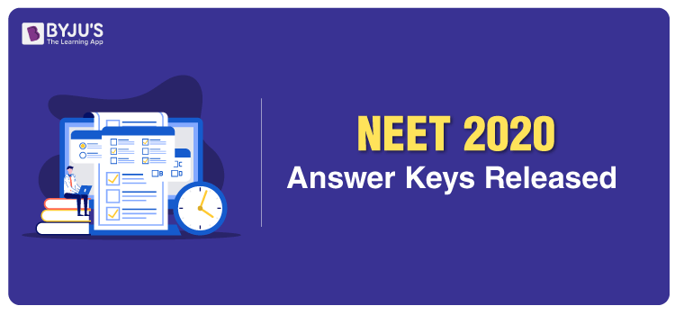 NTA Releases NEET 2020 Answer Keys