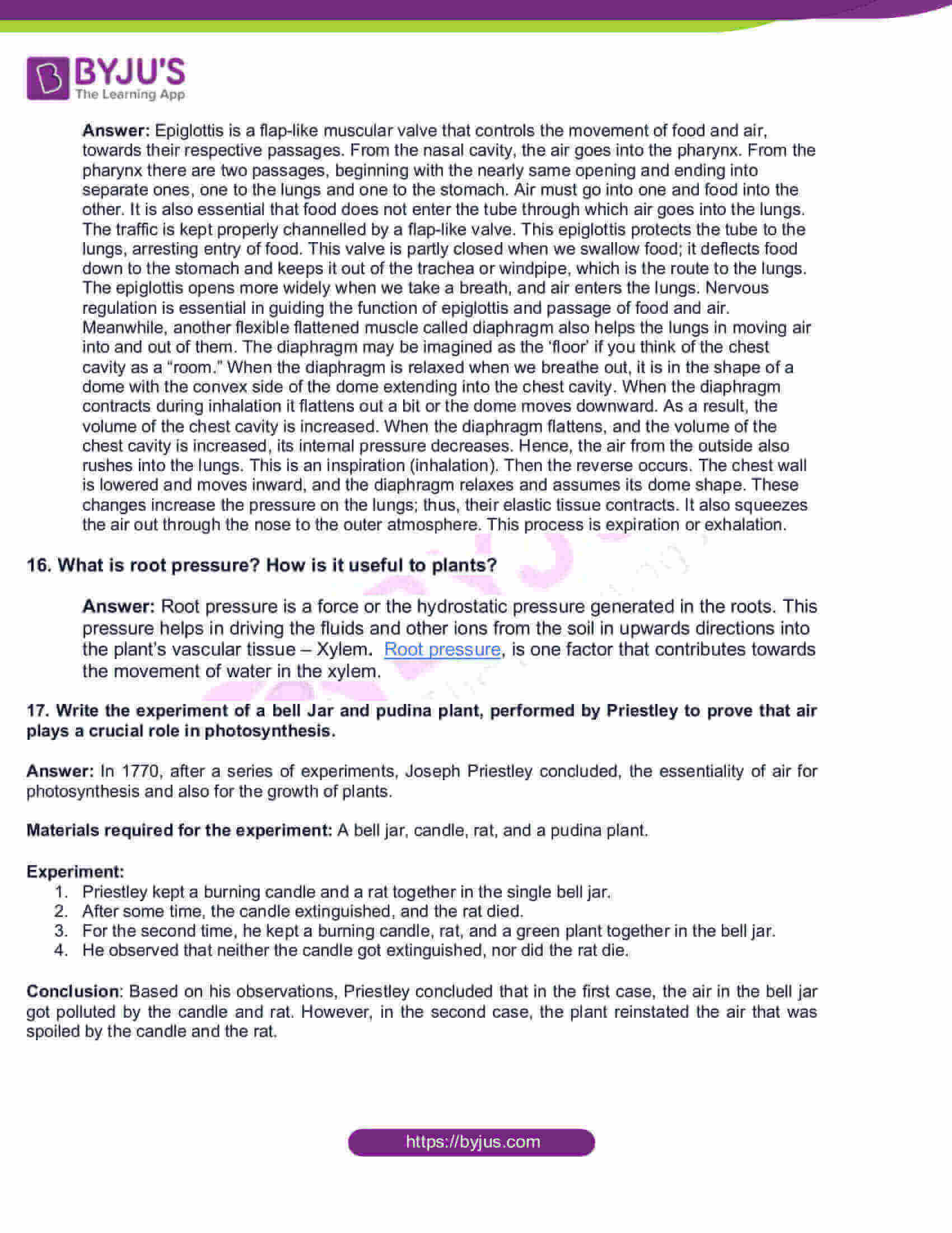 AP Board Class 10 Science Paper 2 2016 Question Paper with Solutions 5