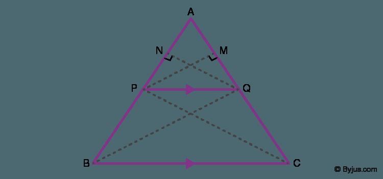 Basic Proportionality Theorem Proof
