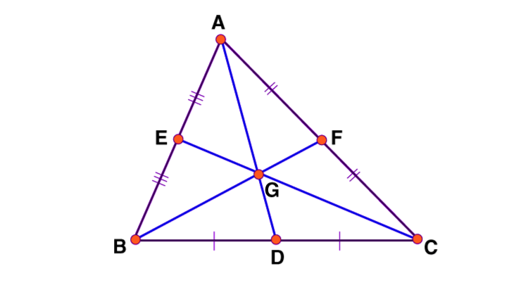 Centroid of a Triangle Formula Proof