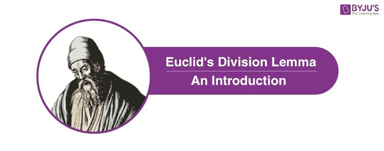 Euclid's division lemma-an introduction