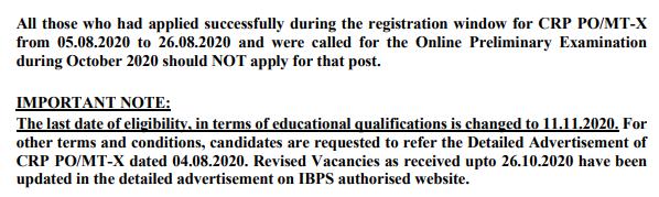 IBPS PO Eligibility Criteria 2020 - Updated