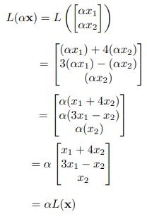 Linear function example sol 1.ii