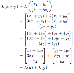 Linear function example sol 1.i